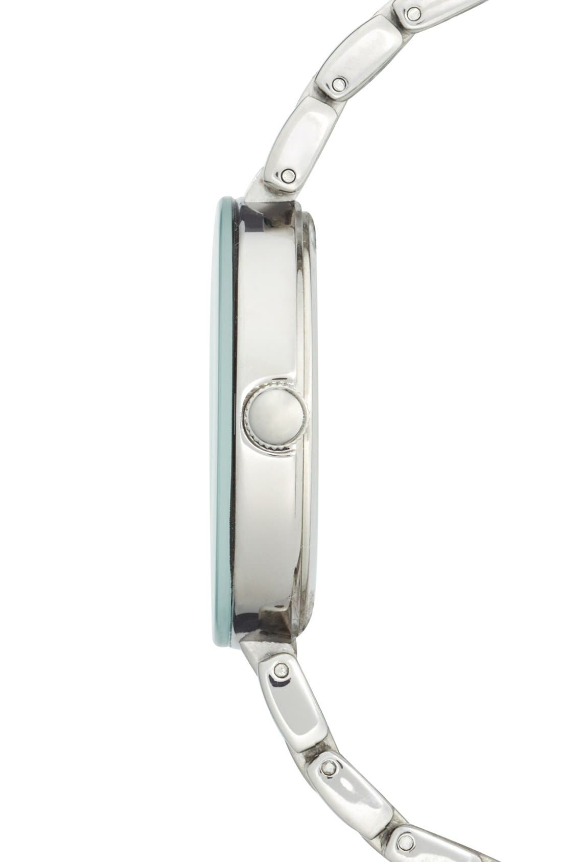 Alternate Image 3  - Anne Klein Pavé Crystal Bracelet Watch, 32mm