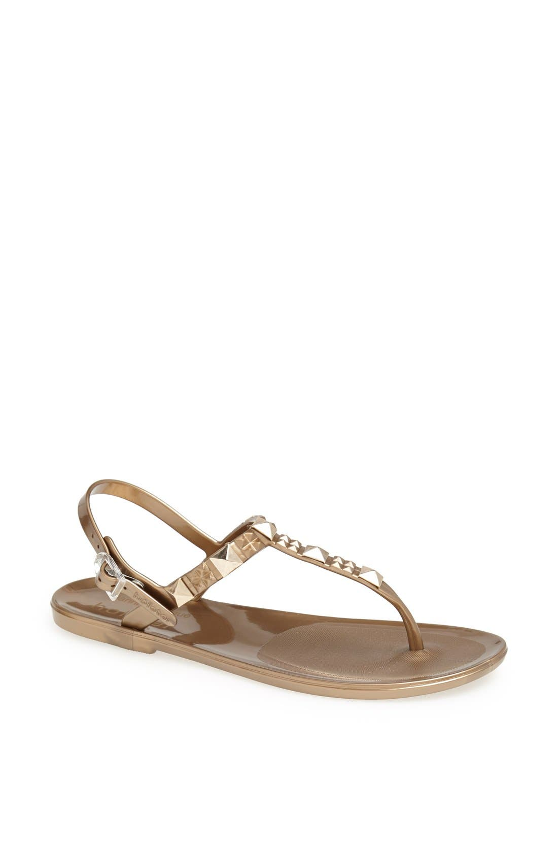 Alternate Image 1 Selected - Holster Fashion 'Rockstar' Jelly Thong Sandal