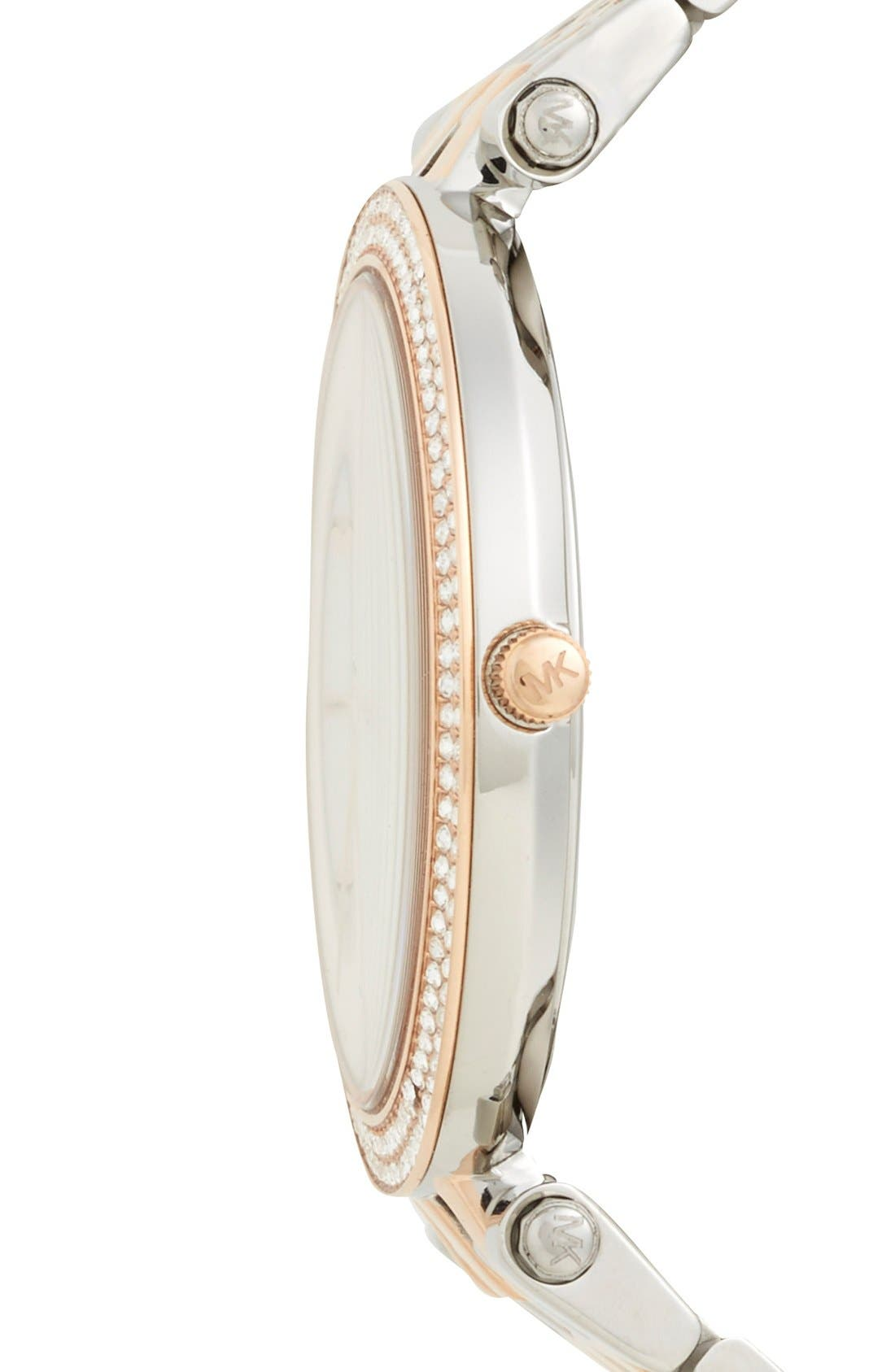 Alternate Image 3  - Michael Kors 'Darci' Round Bracelet Watch, 39mm
