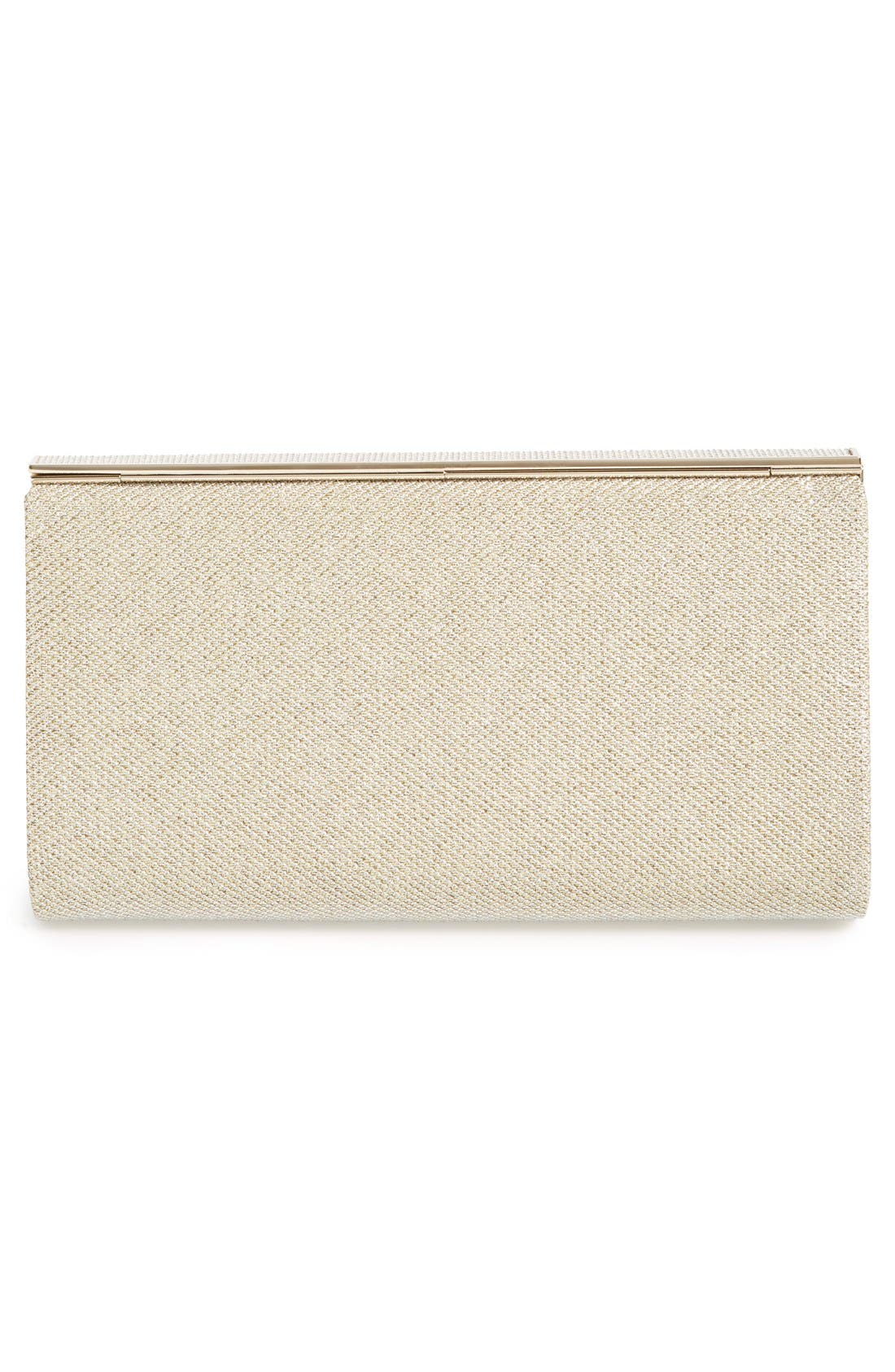 Alternate Image 4  - Jimmy Choo 'Cayla' Lamé Glitter Clutch