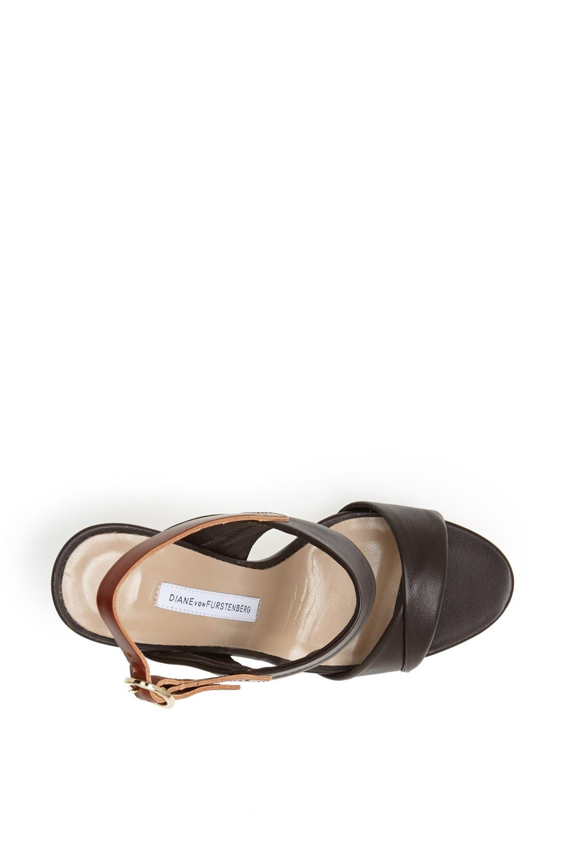 Alternate Image 4  - Diane von Furstenberg 'Jacey' Leather Sandal