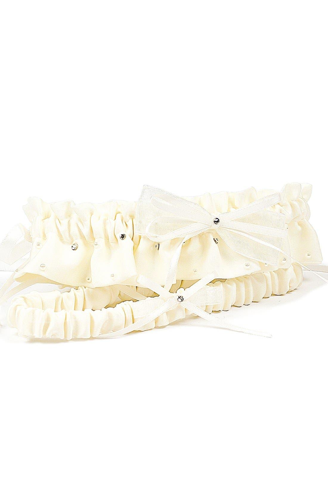 Main Image - Cathy's Concepts 'Candlelight' Adjustable Wedding Garter