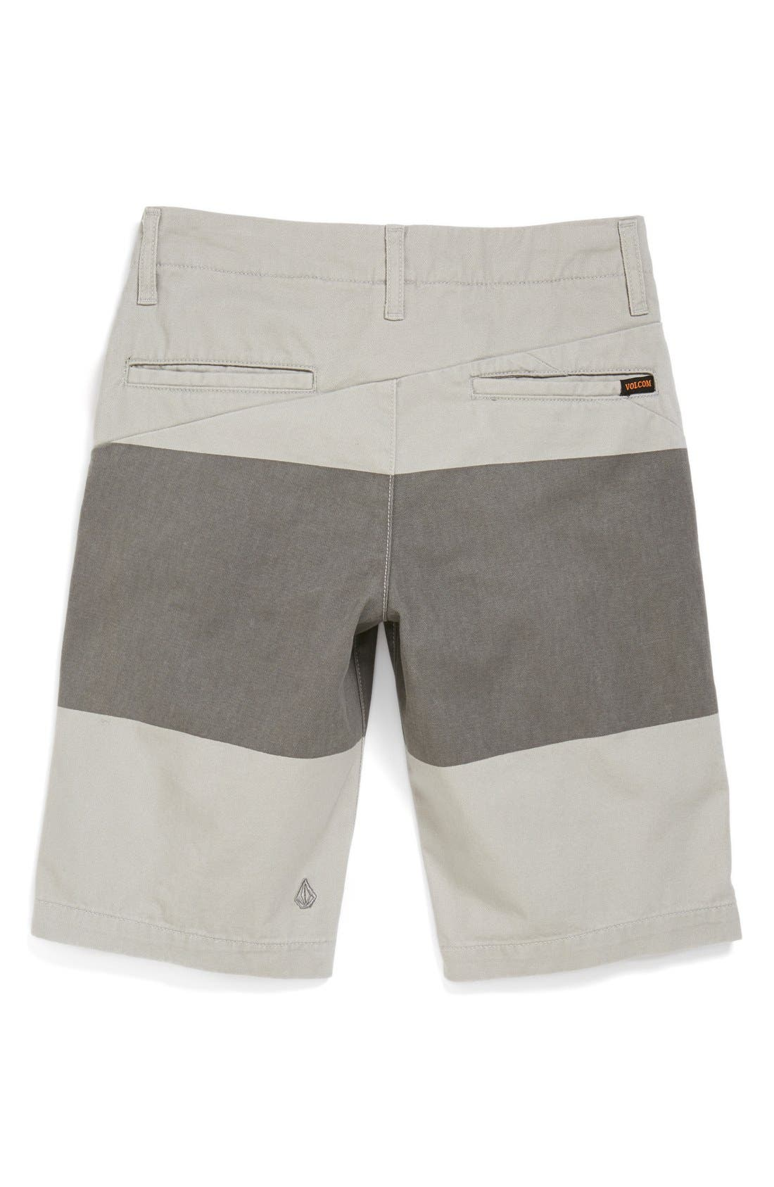 Alternate Image 2  - Volcom Stripe Chino Shorts (Big Boys)