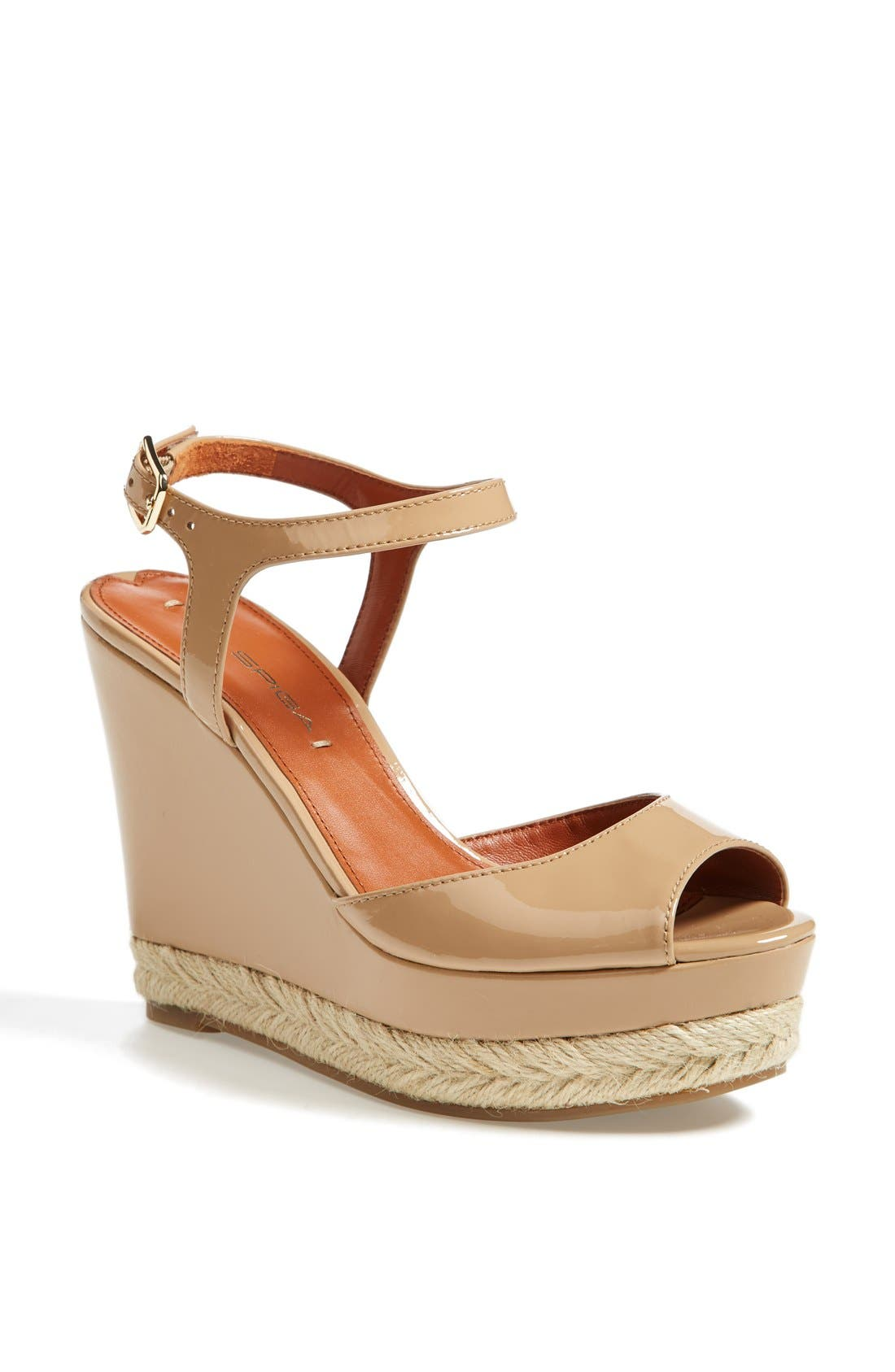 Alternate Image 1 Selected - Via Spiga 'Melia' Wedge Sandal