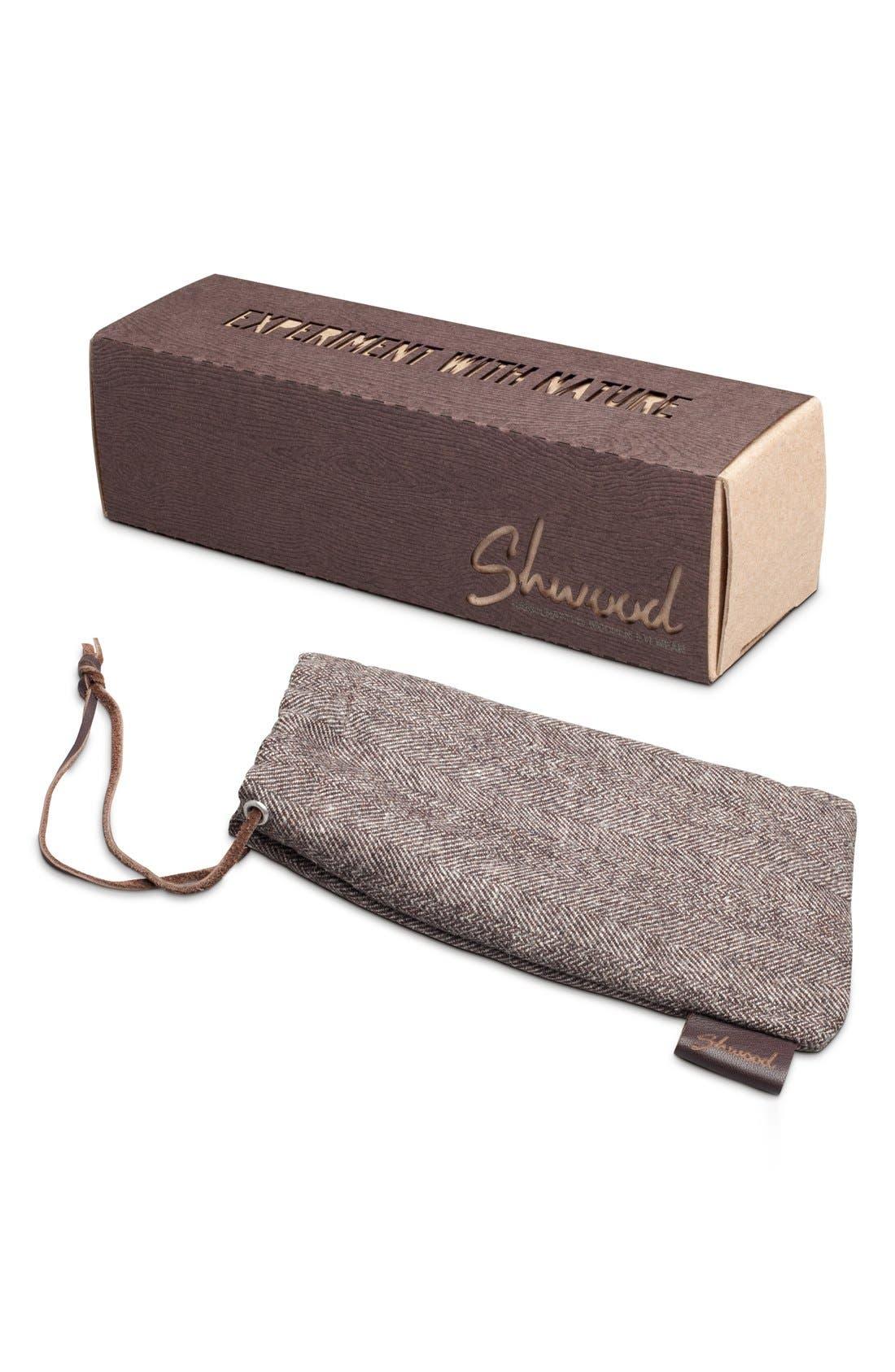 Alternate Image 2  - Shwood 'Canby' 54mm Polarized Wood Sunglasses