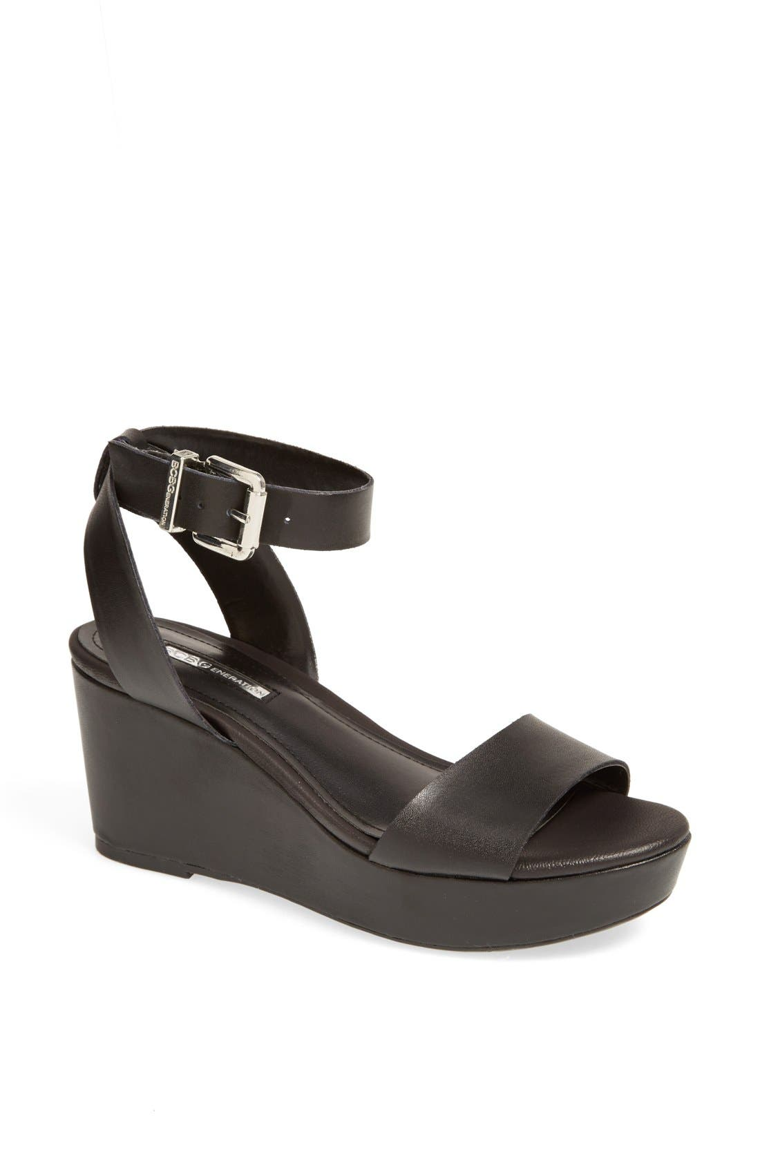 Alternate Image 1 Selected - BCBGeneration 'Fiji' Wedge Sandal