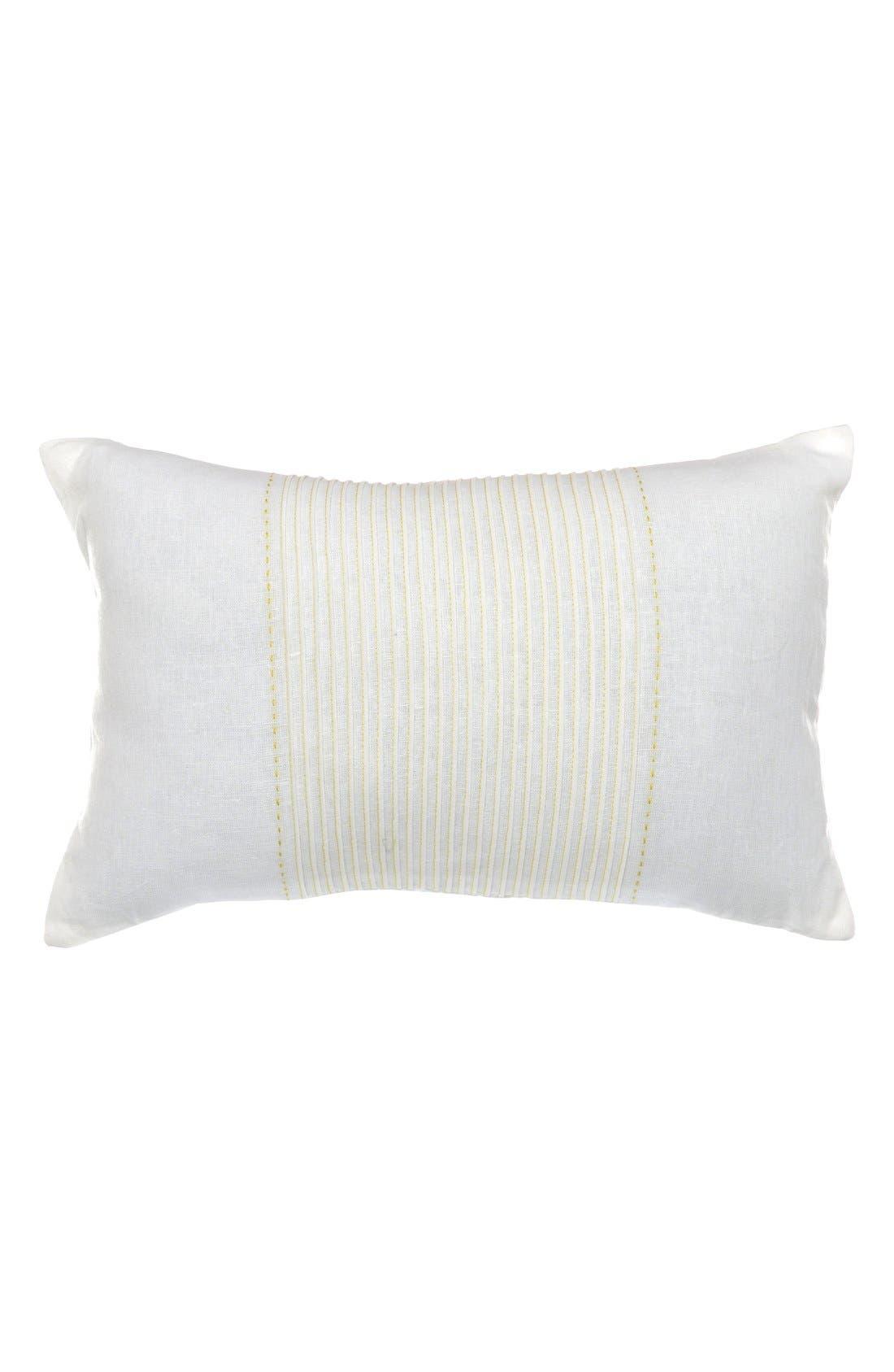 Main Image - Nautica 'Delwood - Breakfast' Linen & Cotton Accent Pillow