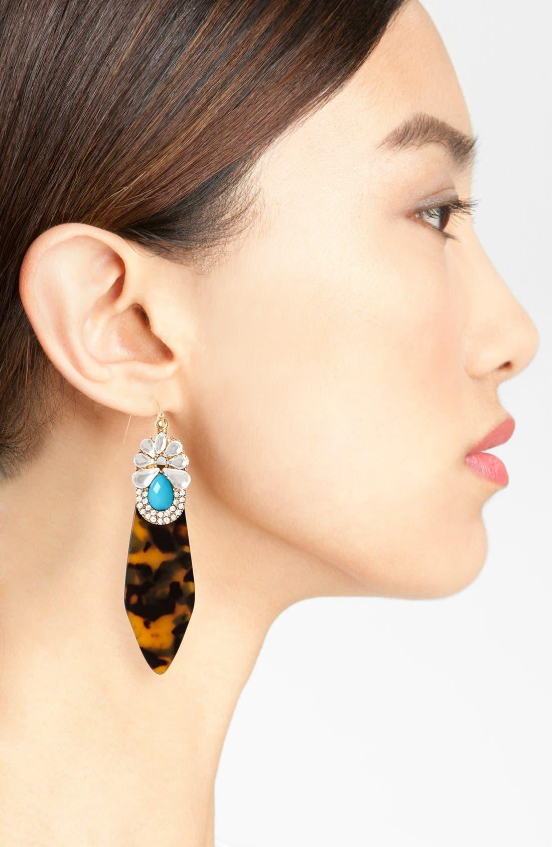 Alternate Image 2  - BaubleBar Drop Earrings