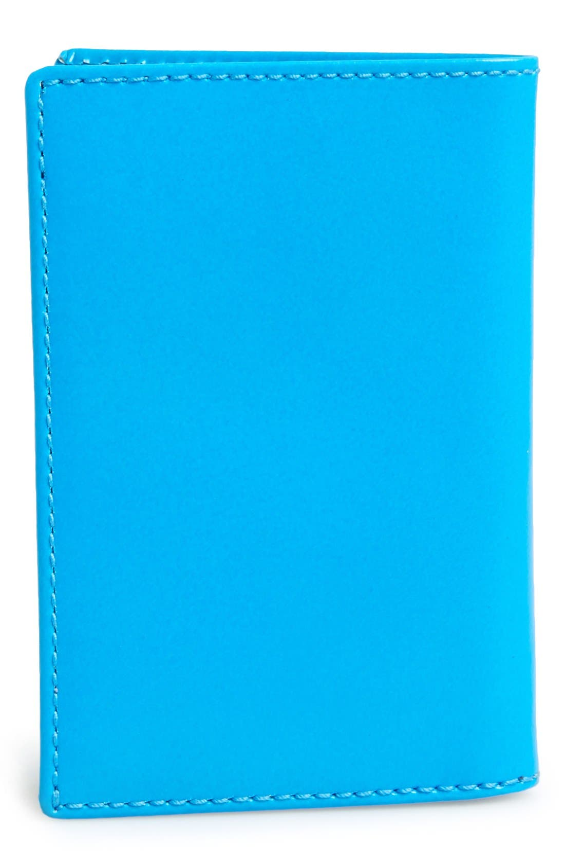 Alternate Image 3  - Comme des Garçons 'Super Fluo' Leather Card Case