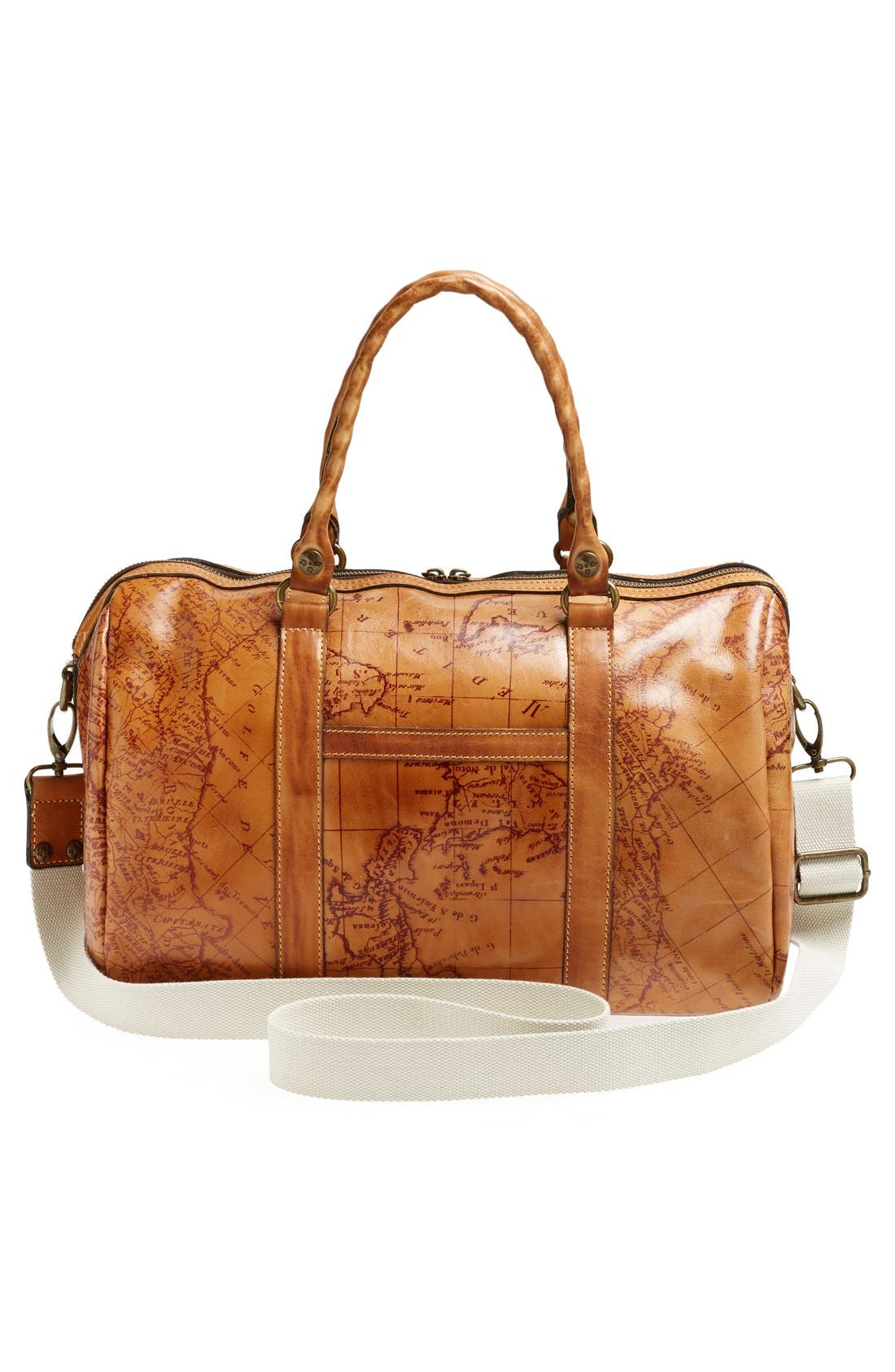Alternate Image 4  - Patricia Nash 'Stressa' Leather Overnight Bag (16 Inch)