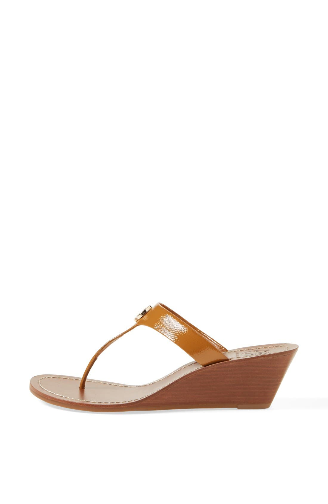 Alternate Image 4  - Tory Burch 'Cameron' Wedge Sandal (Online Only)