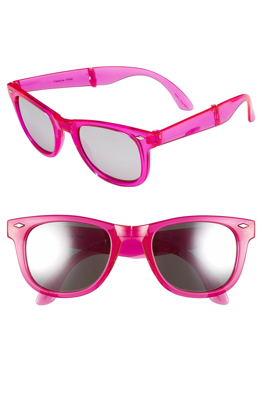 Alternate Image 1 Selected - Outlook Eyewear 'Caliente' 50mm Foldable Sunglasses