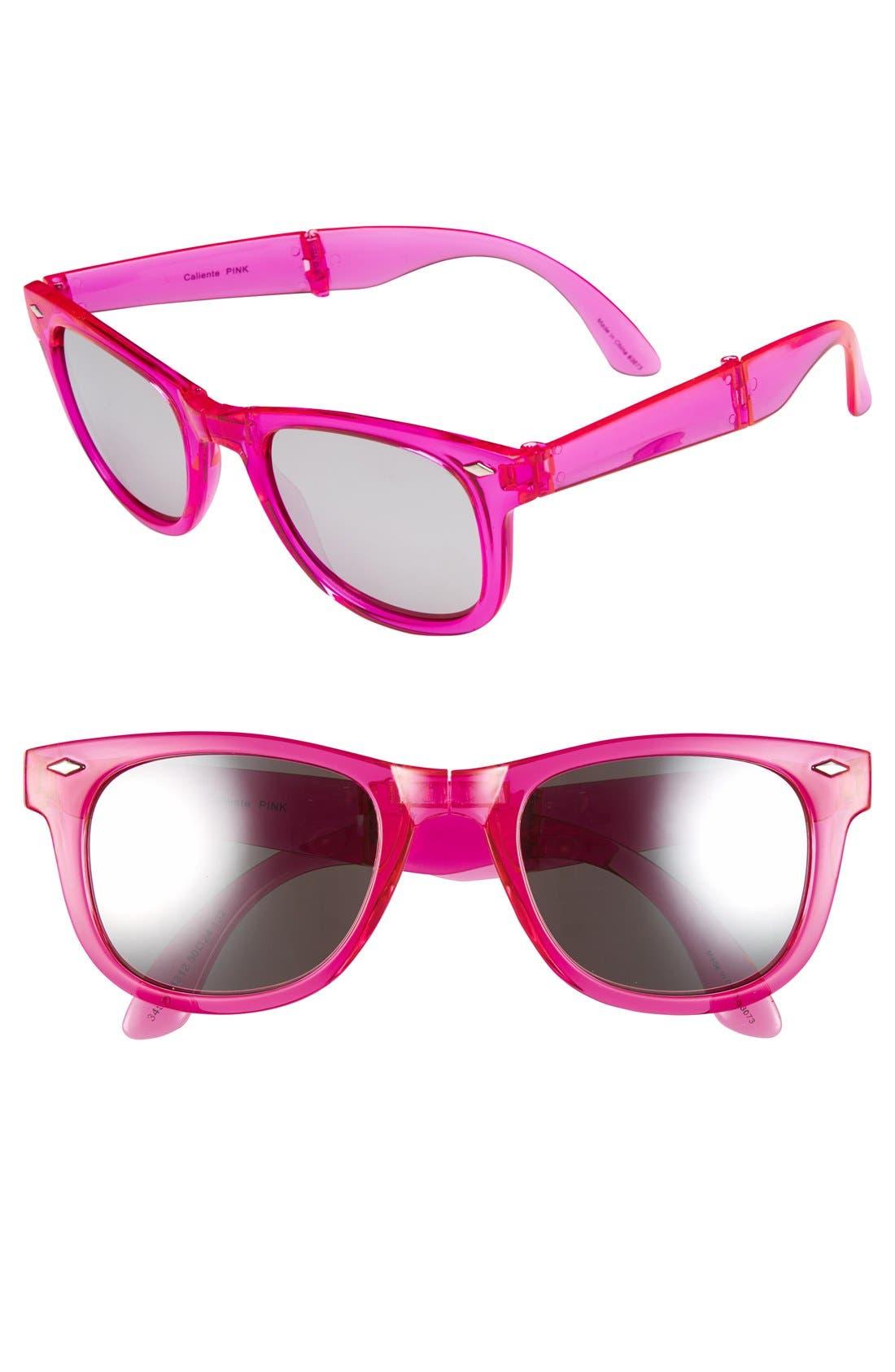 Main Image - Outlook Eyewear 'Caliente' 50mm Foldable Sunglasses