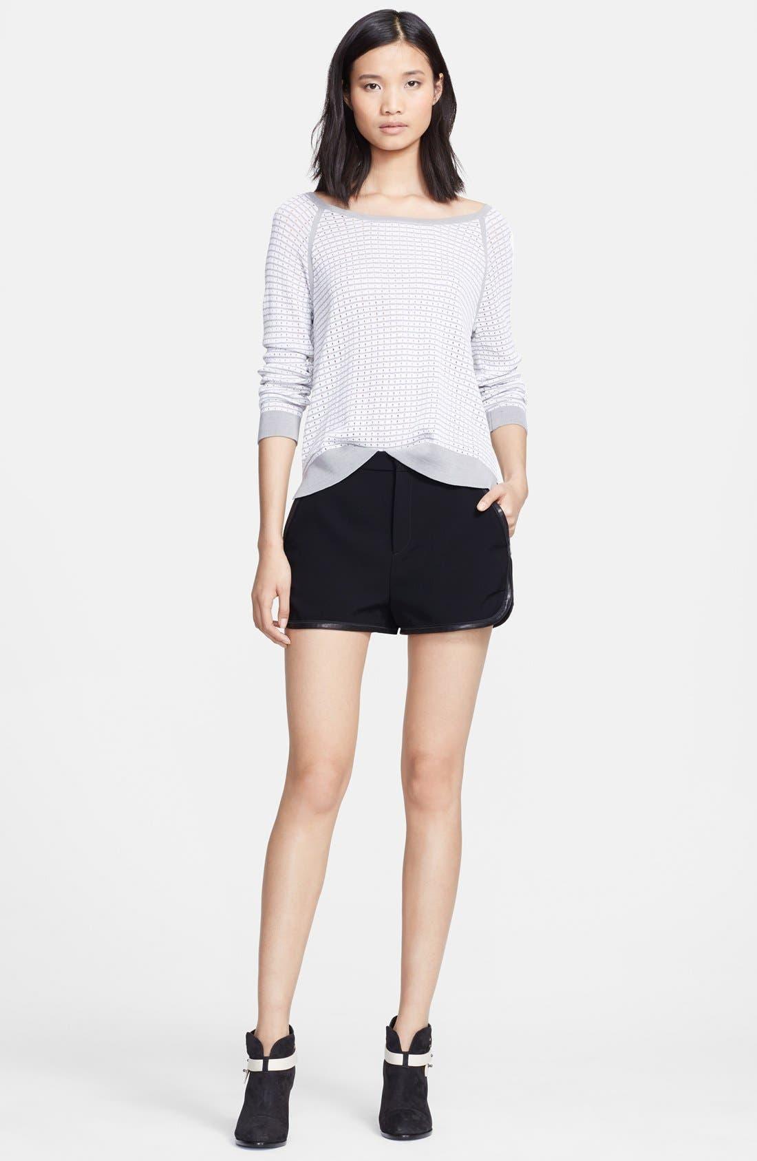Alternate Image 3  - rag & bone 'Arianna' Raglan Pointelle Sweater