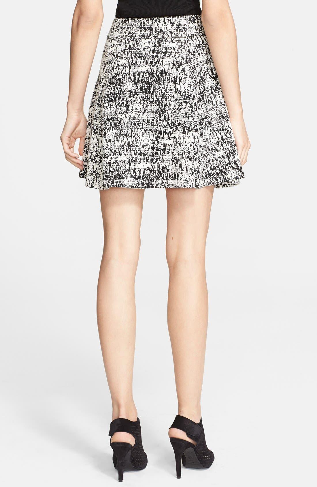 Alternate Image 2  - Theory 'Doreene Tweedscape' Print Woven Skirt