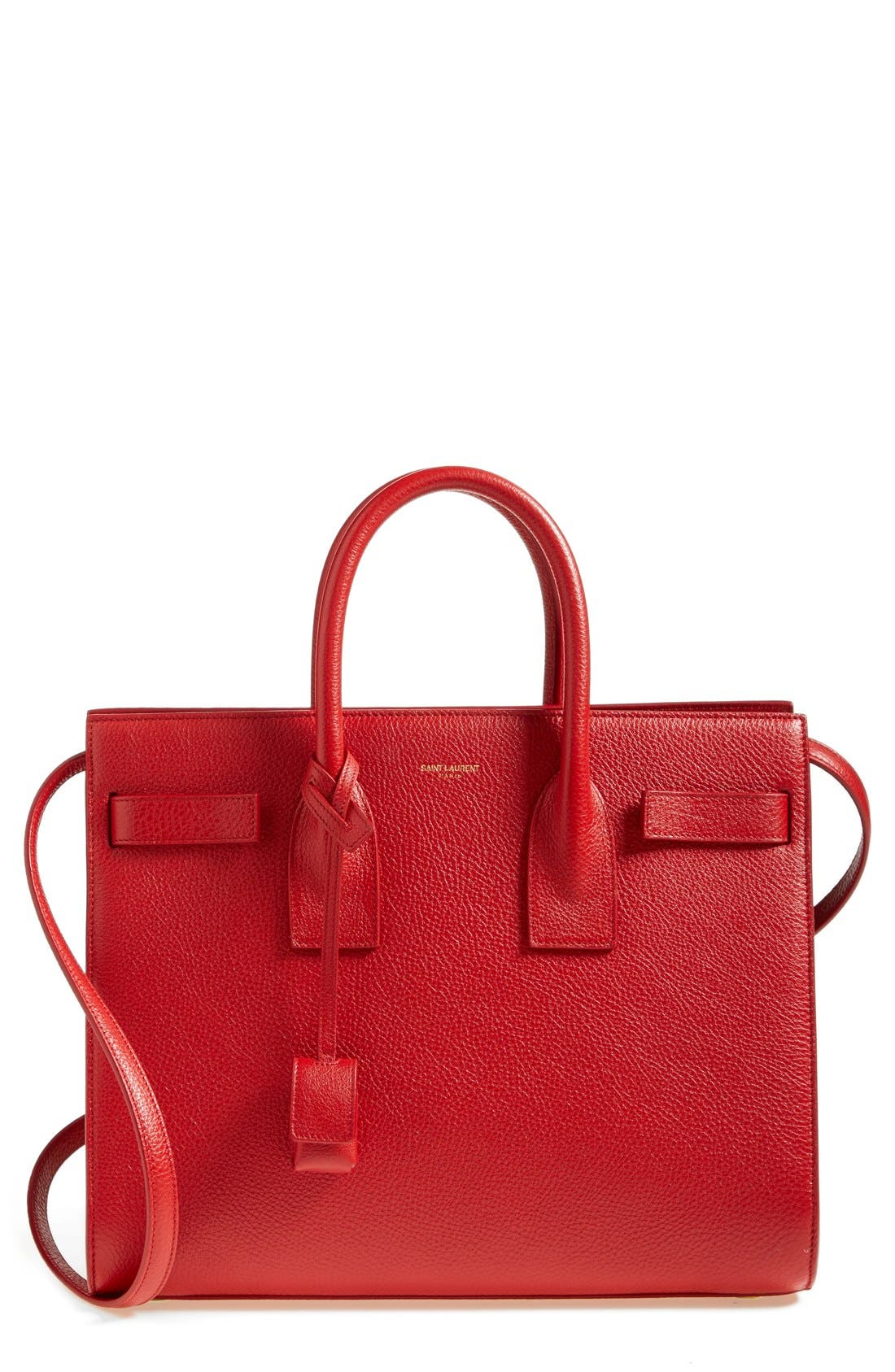 Alternate Image 1 Selected - Saint Laurent 'Small Sac de Jour' Grained Leather Tote