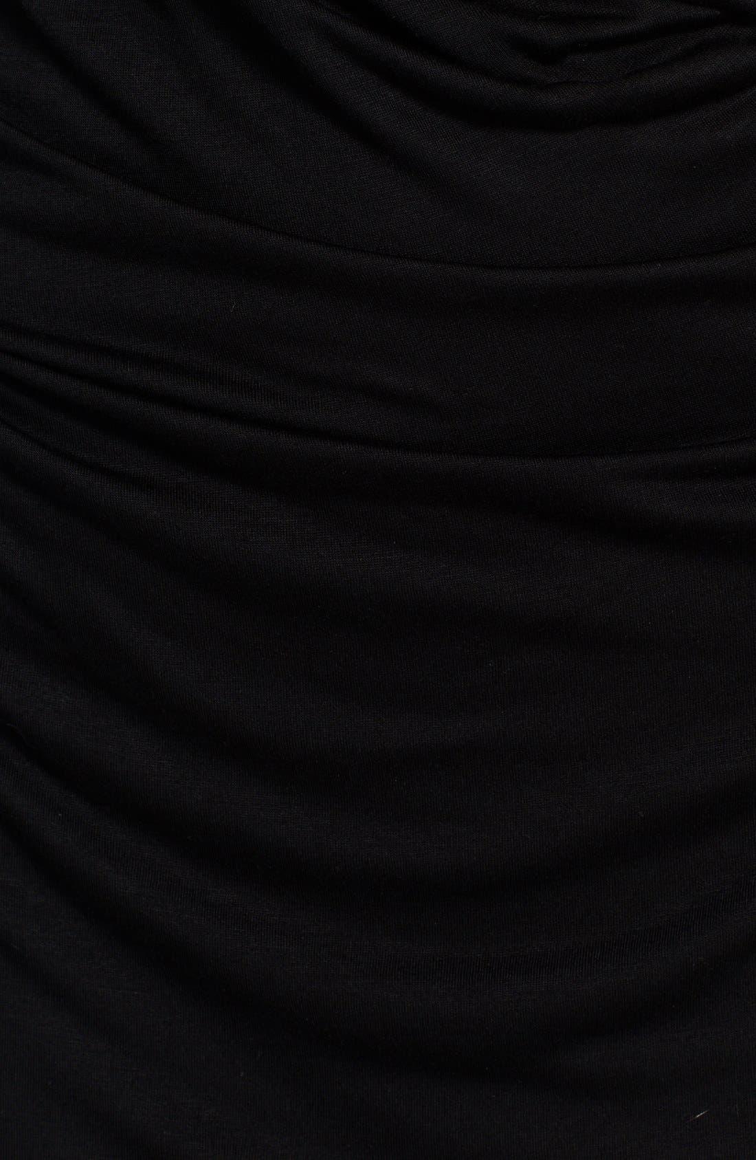 Alternate Image 3  - Helmut Lang 'Scala' Draped Crossover Back Jersey Dress