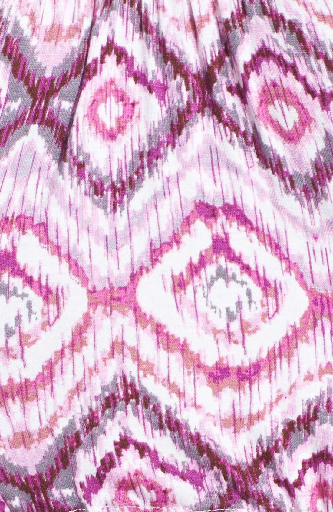 Alternate Image 3  - Loveappella Drawstring Waist Maxi Dress