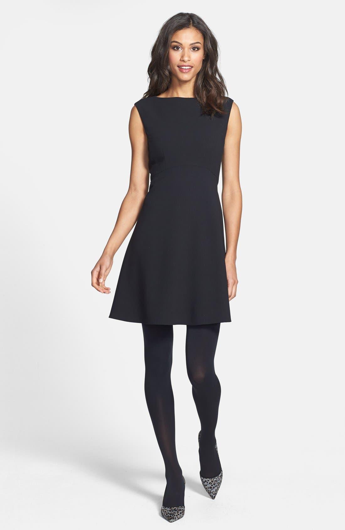 Alternate Image 4  - Tahari Empire Waist Fit & Flare Dress (Petite)