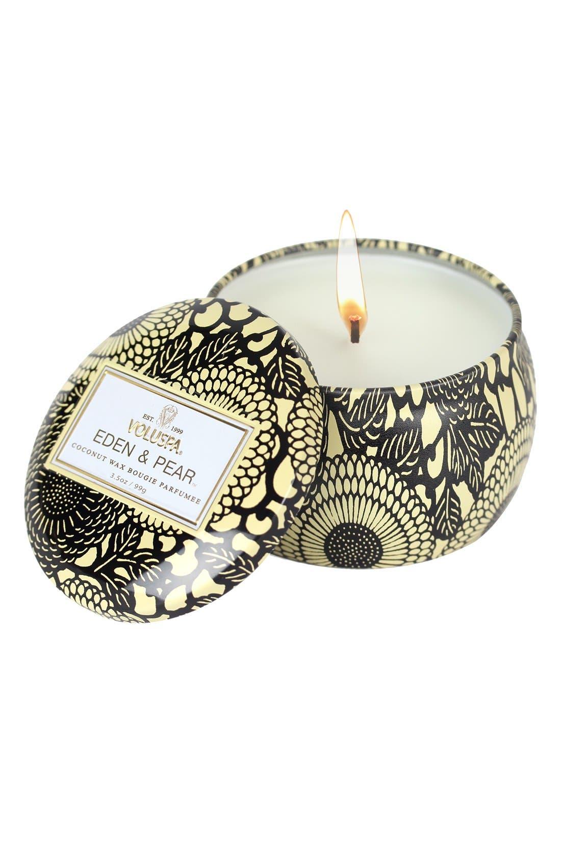 Main Image - Voluspa 'Japonica - Eden & Pear' Petite Decorative Candle