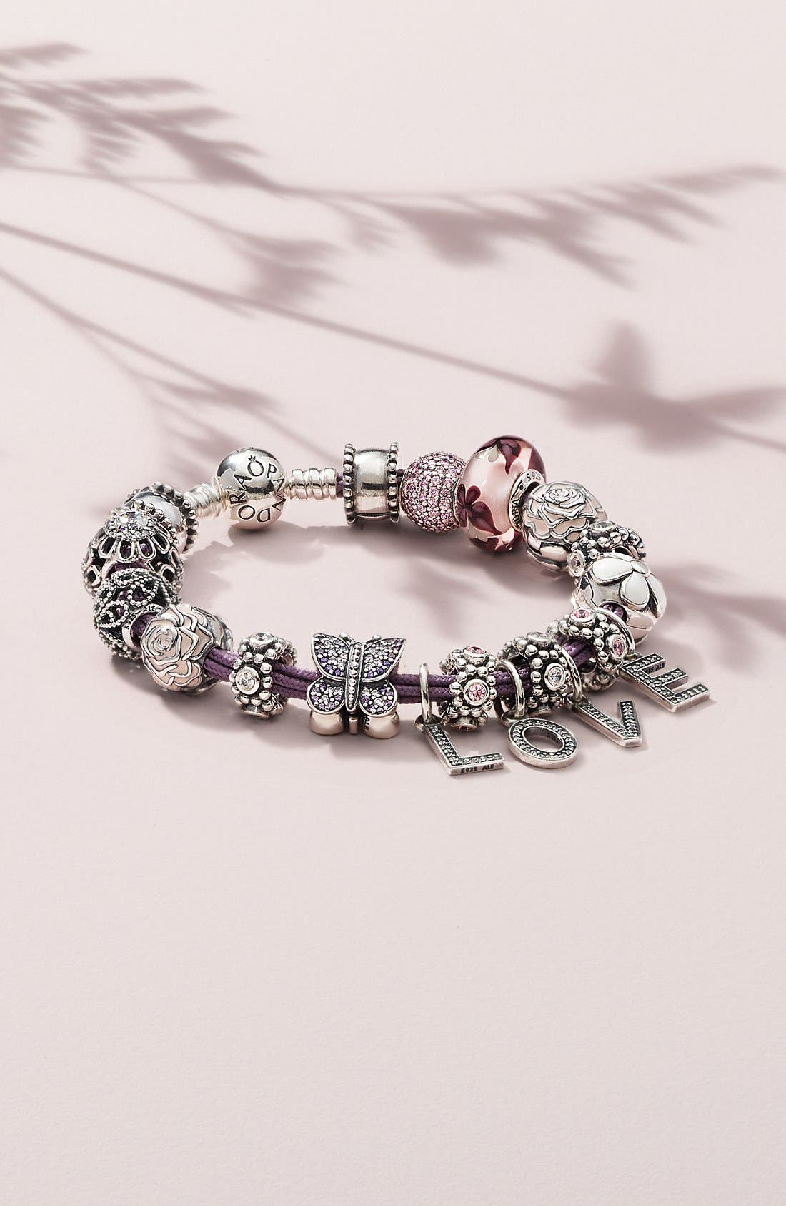 Alternate Image 3  - PANDORA 'Floral Brilliance' Bead Charm