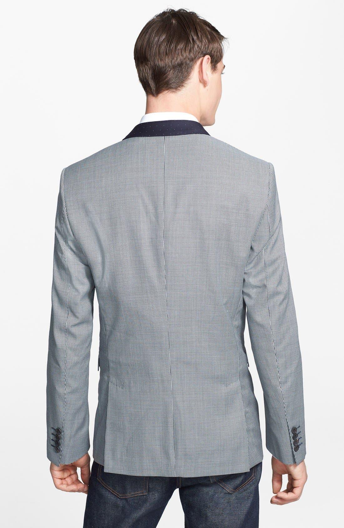 Alternate Image 2  - Paul Smith London 'Byard' Contrast Houndstooth Wool Sportcoat
