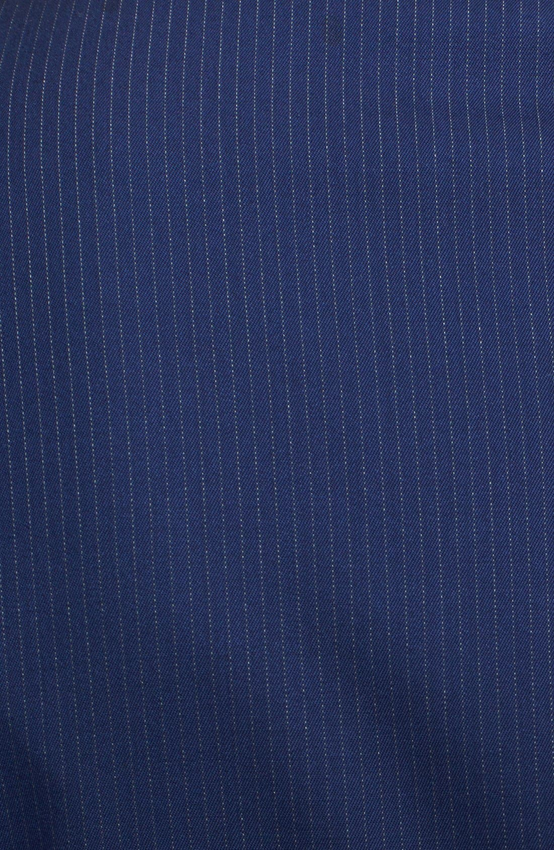 Alternate Image 6  - Ralph Lauren Black Label Twill Wool Suit