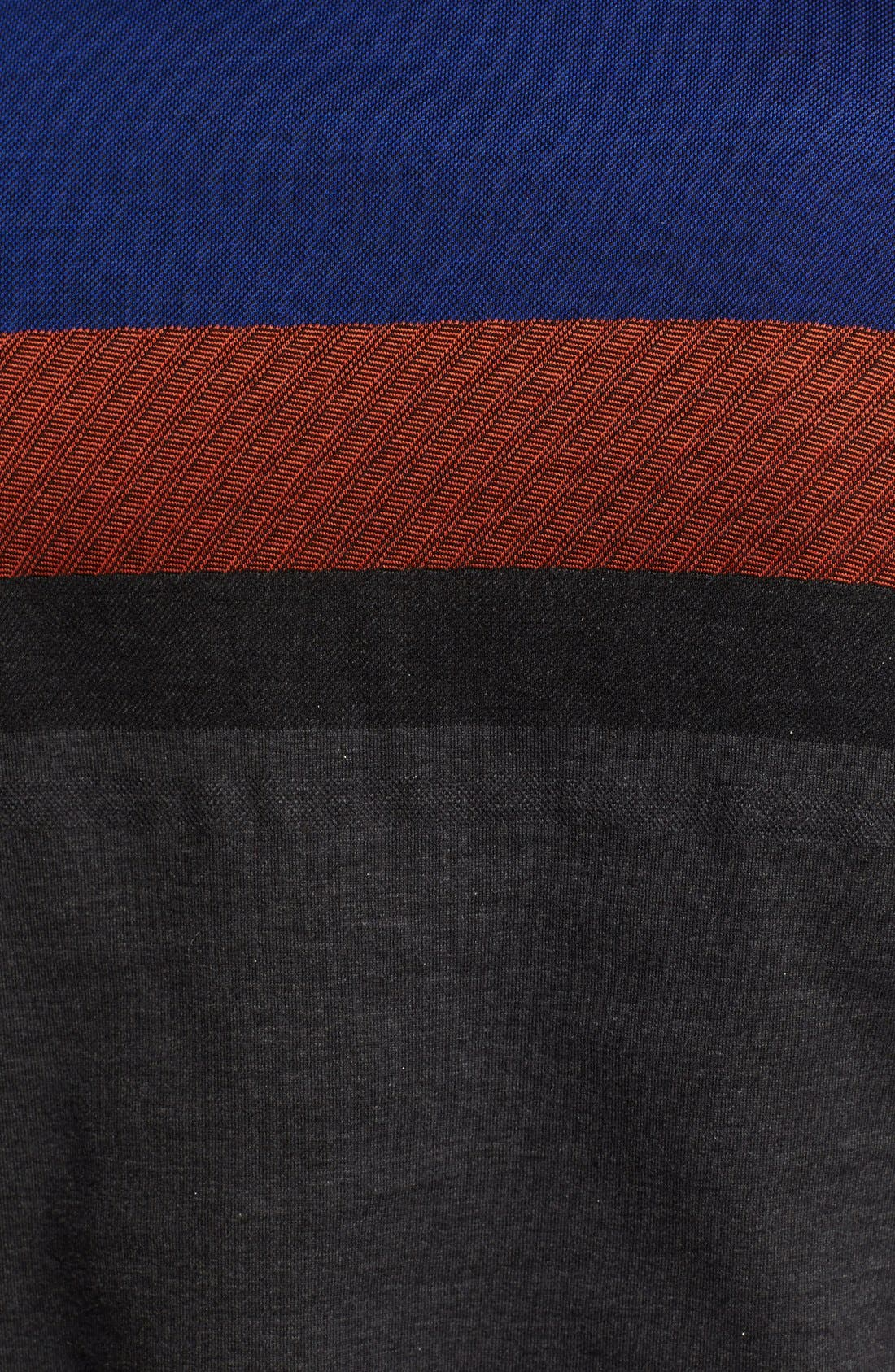 Alternate Image 3  - Z Zegna Colorblock Polo