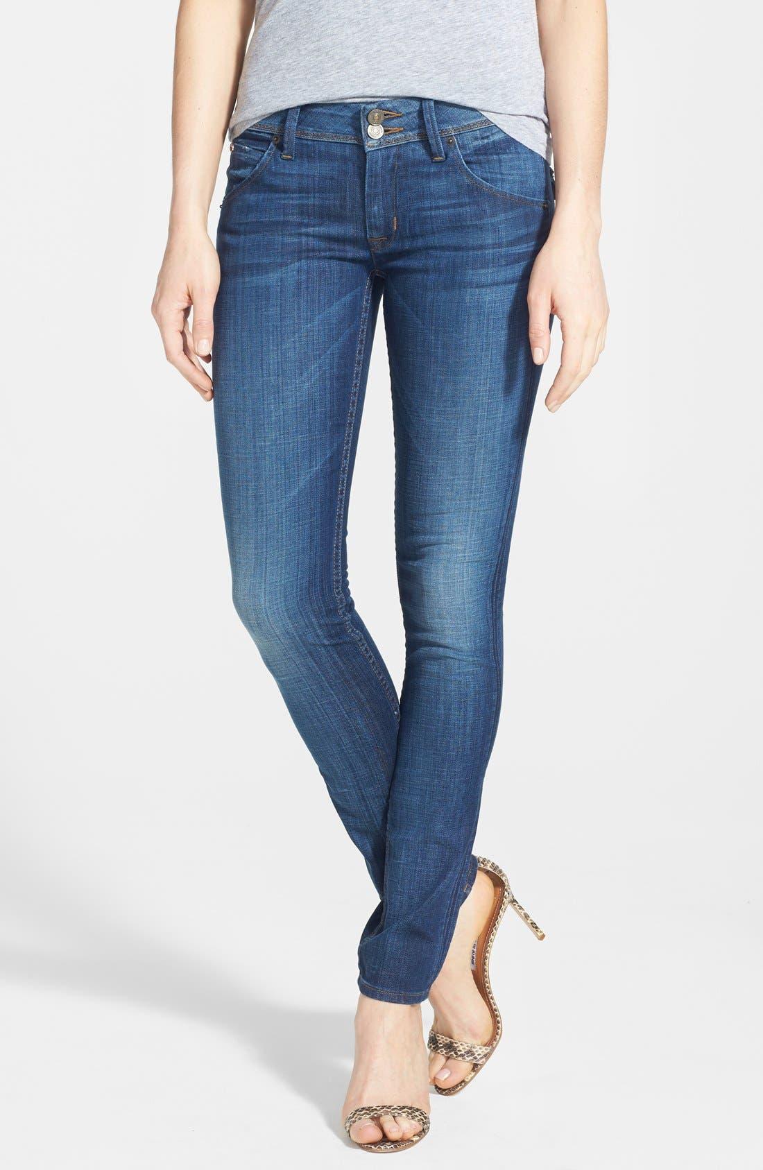 Alternate Image 1 Selected - Hudson Jeans 'Collin' Skinny Jeans (Saville)