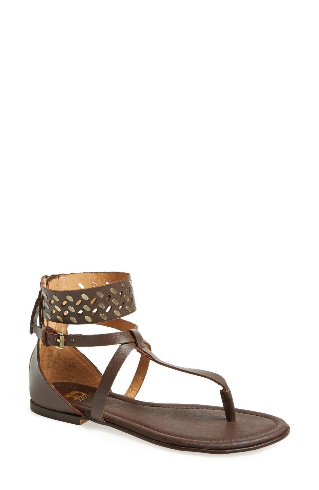Alternate Image 1 Selected - Joe's 'Effie' Embellished Leather Sandal