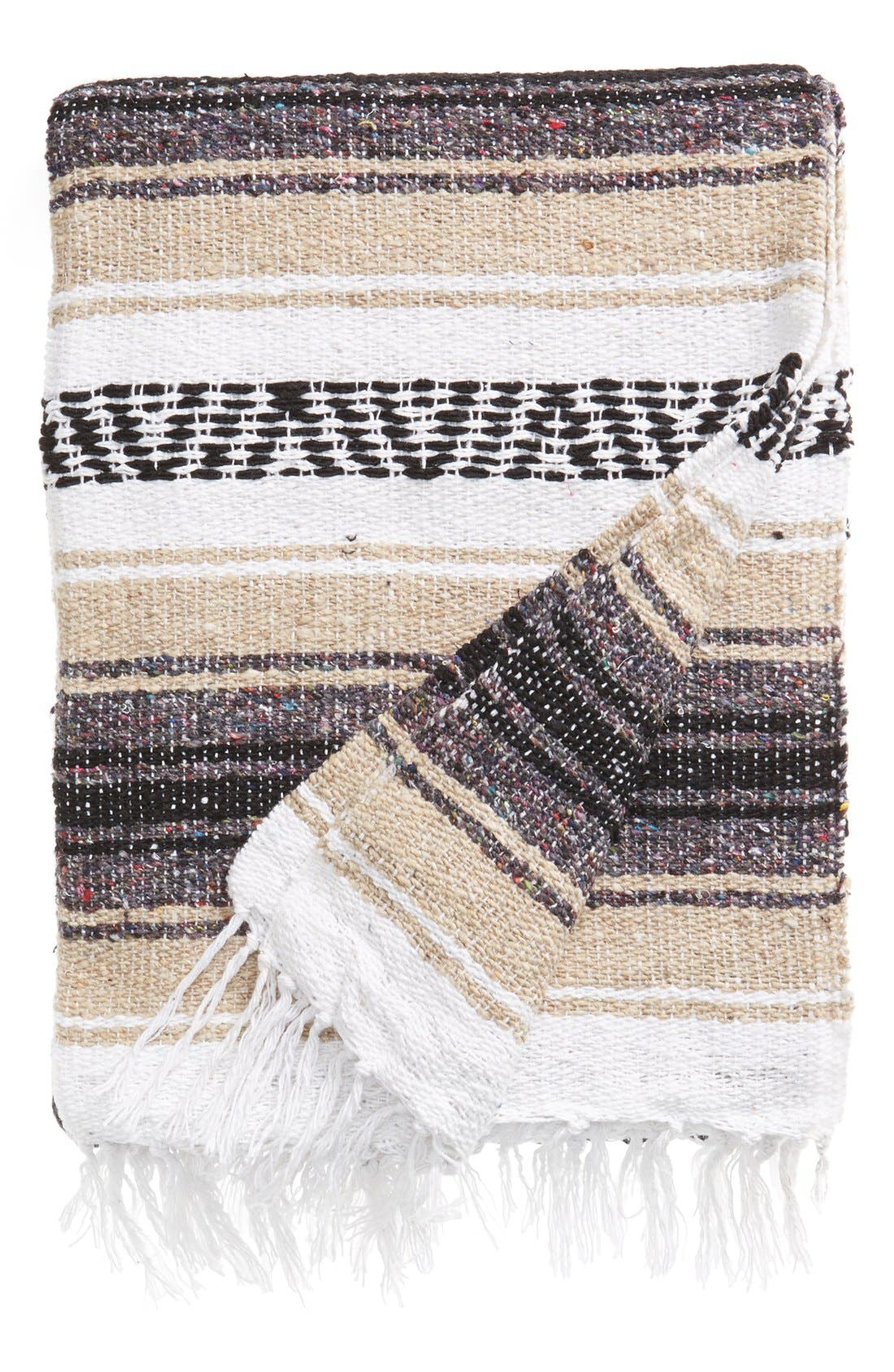 Main Image - Sercal 'Economy' Mexican Blanket