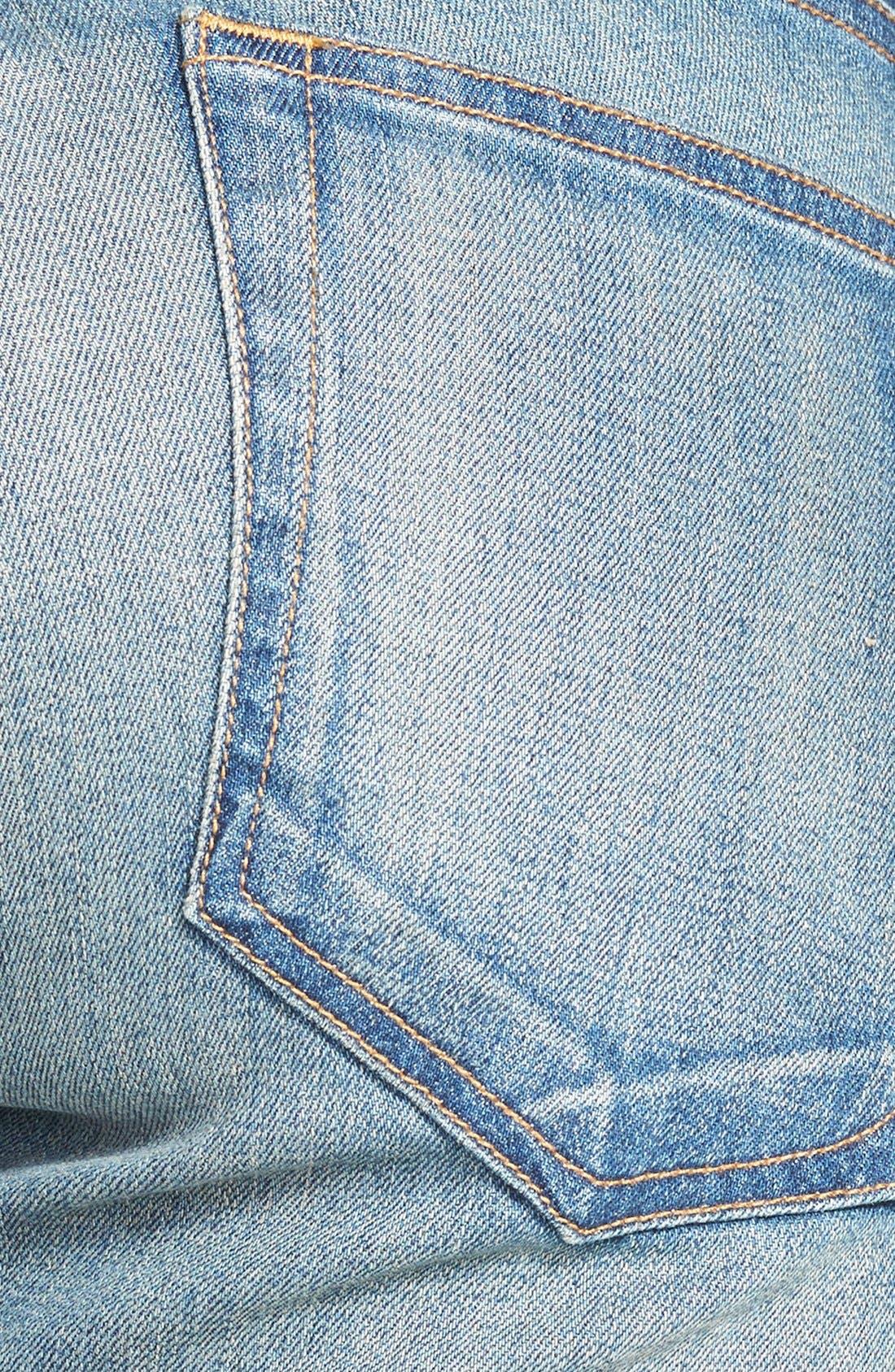 Alternate Image 3  - rag & bone/JEAN 'The Dre' Slim Fit Boyfriend Jeans (Golden) (Nordstrom Exclusive)
