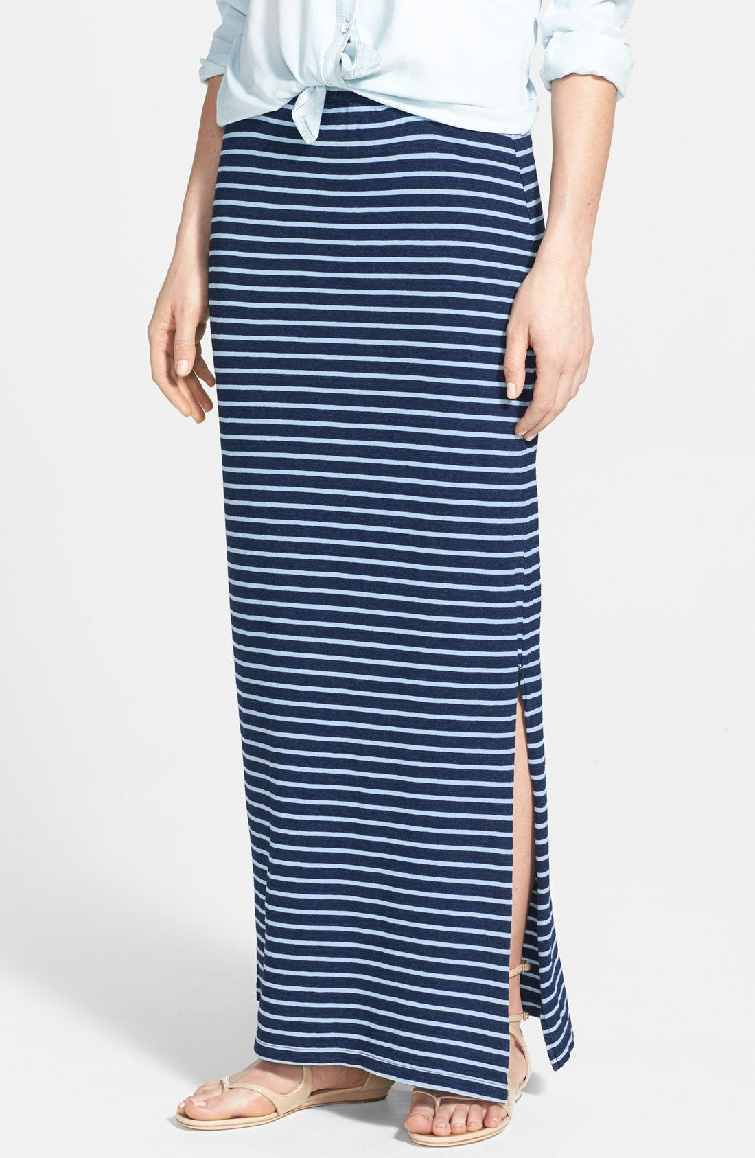 Main Image - Splendid Stripe Maxi Skirt