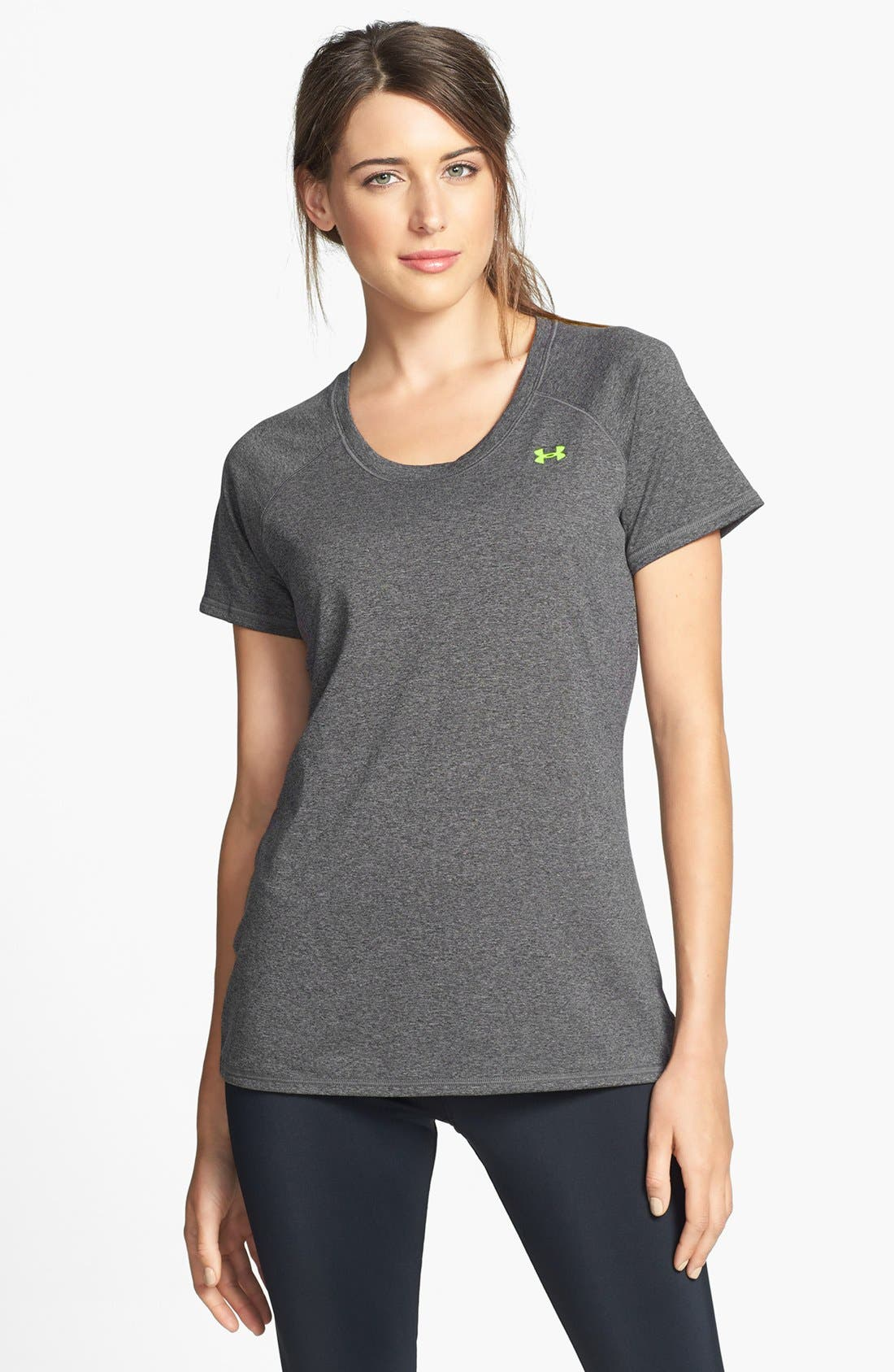 Alternate Image 1 Selected - Under Armour 'Go the Distance' Tee
