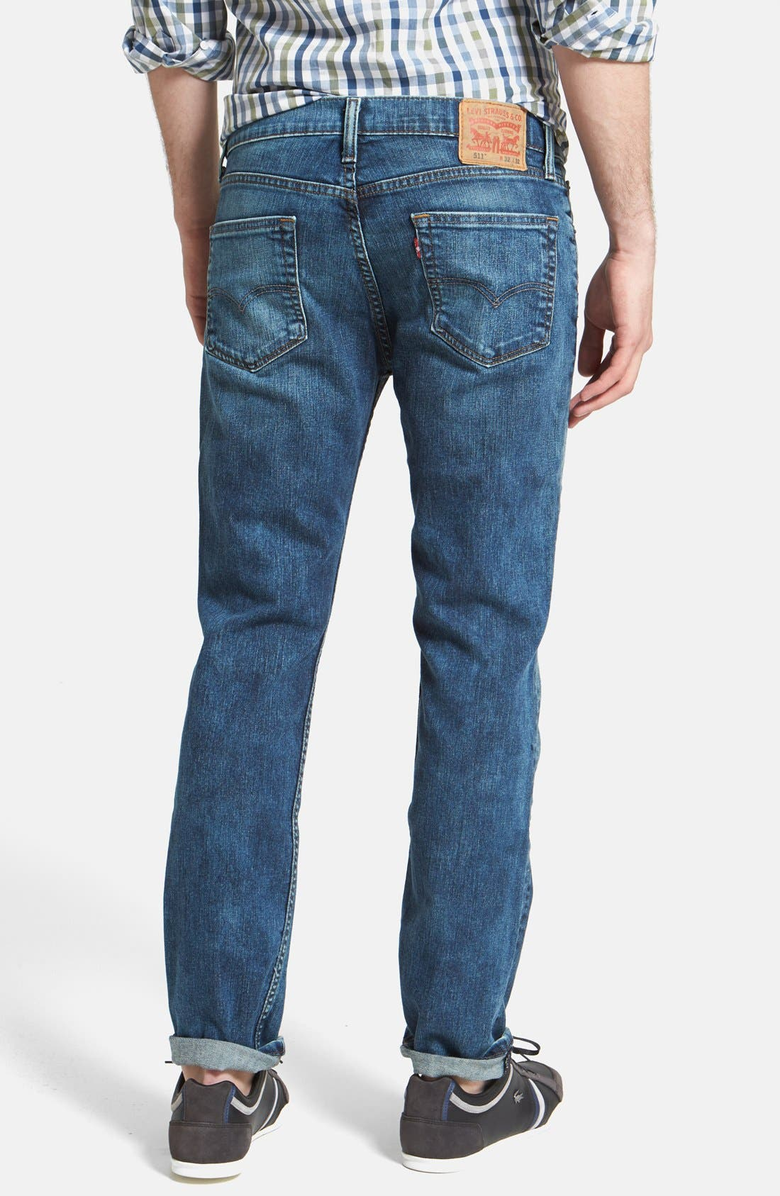 Alternate Image 2  - Levi's® '511™' Slim Fit Jeans (Blue Foam)