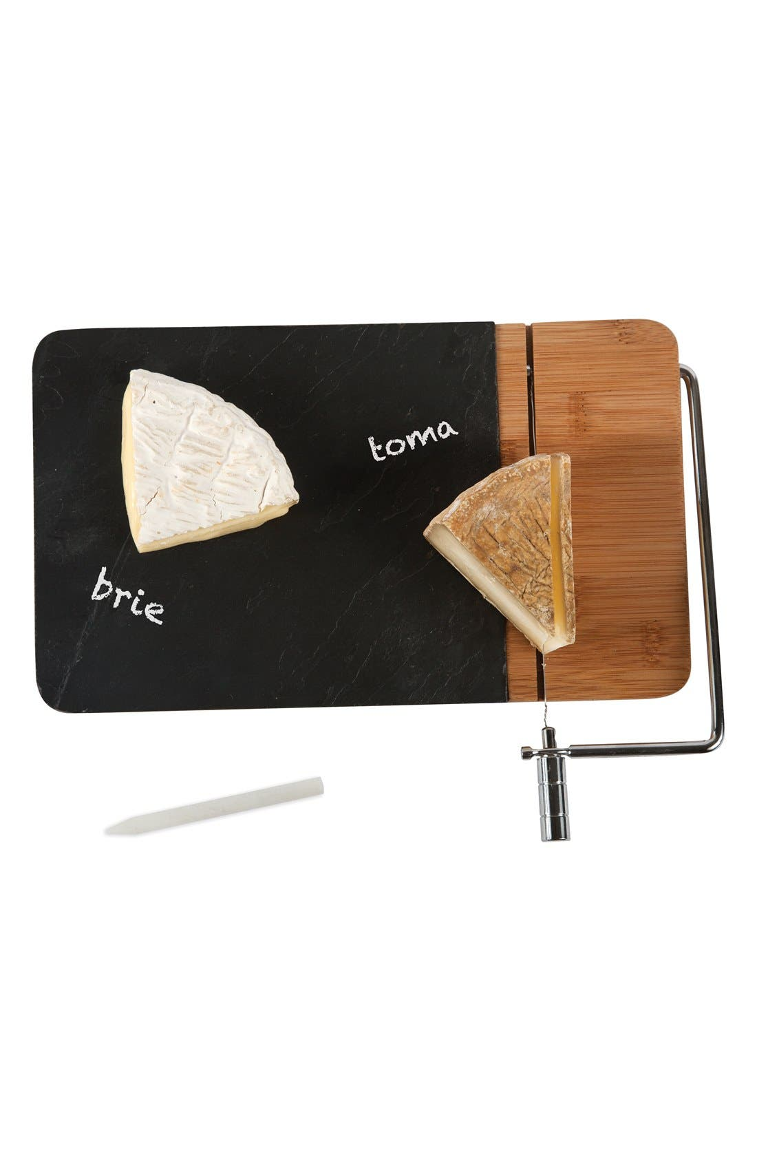 Alternate Image 3  - Core Home Slate & Bamboo Cheese Board