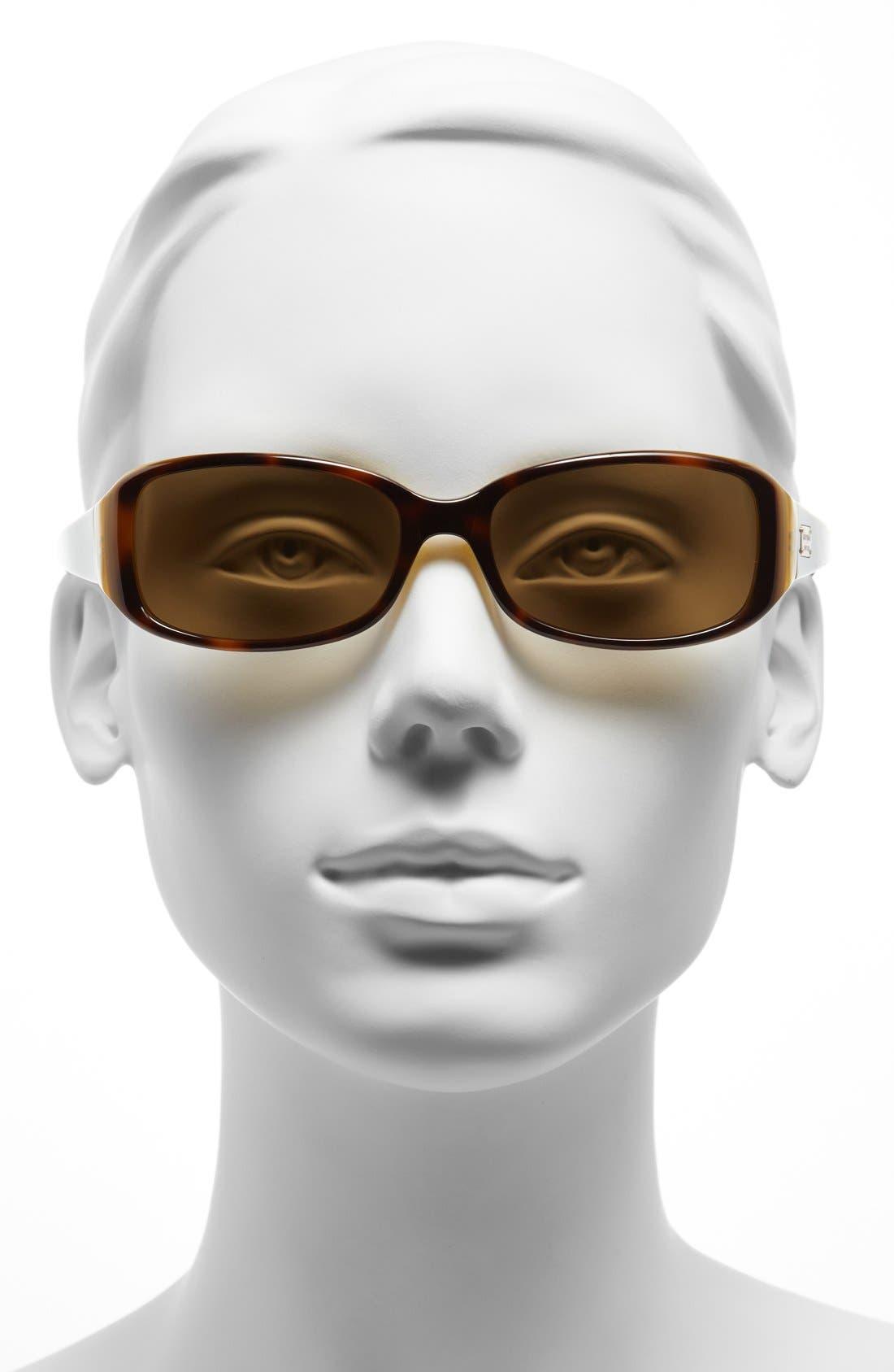 Alternate Image 2  - kate spade new york 'paxton' 53mm polarized sunglasses
