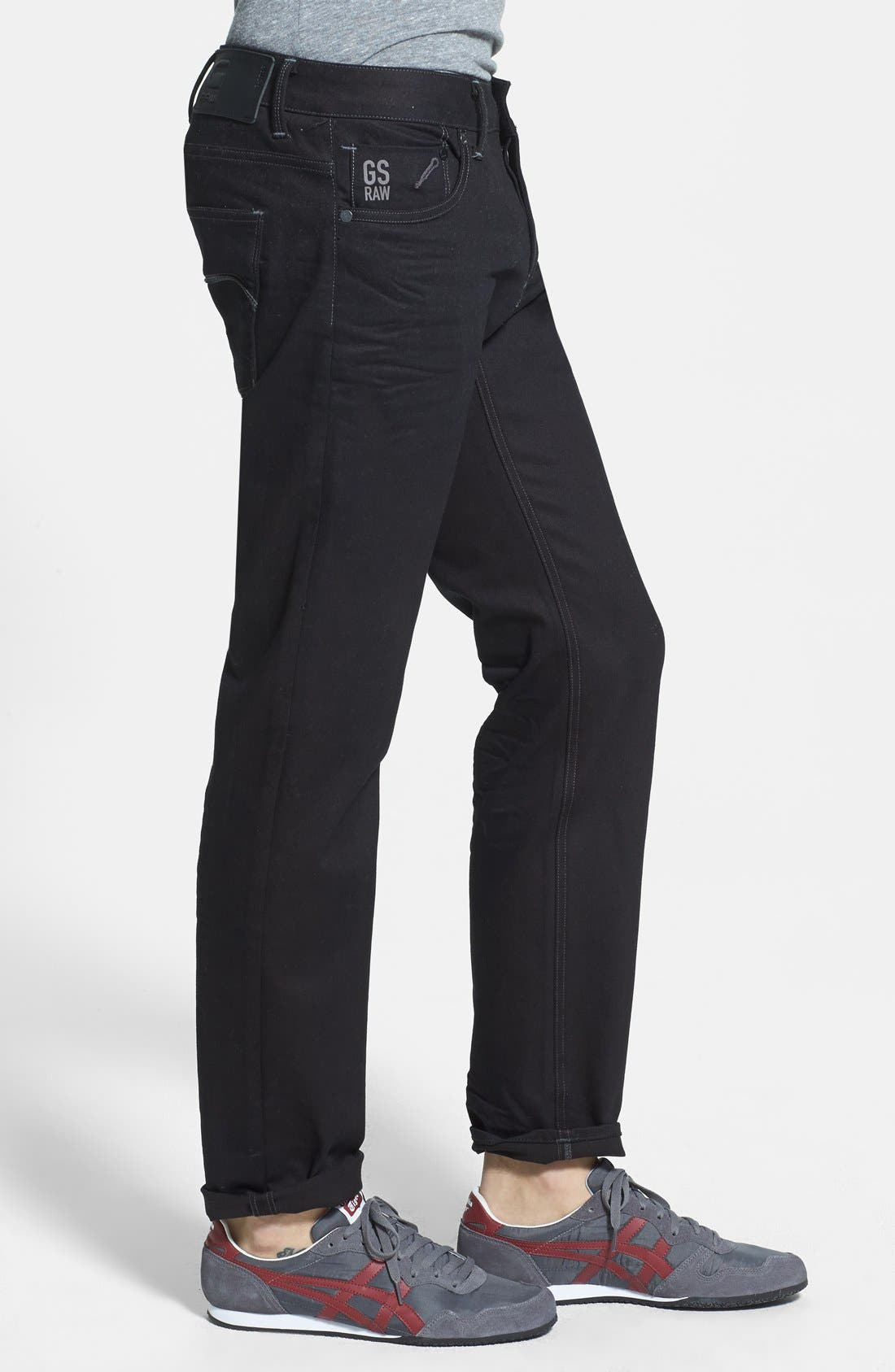 Alternate Image 3  - G-Star Raw 'Defend Edington' Slouchy Slim Fit Jeans (3D Raw)