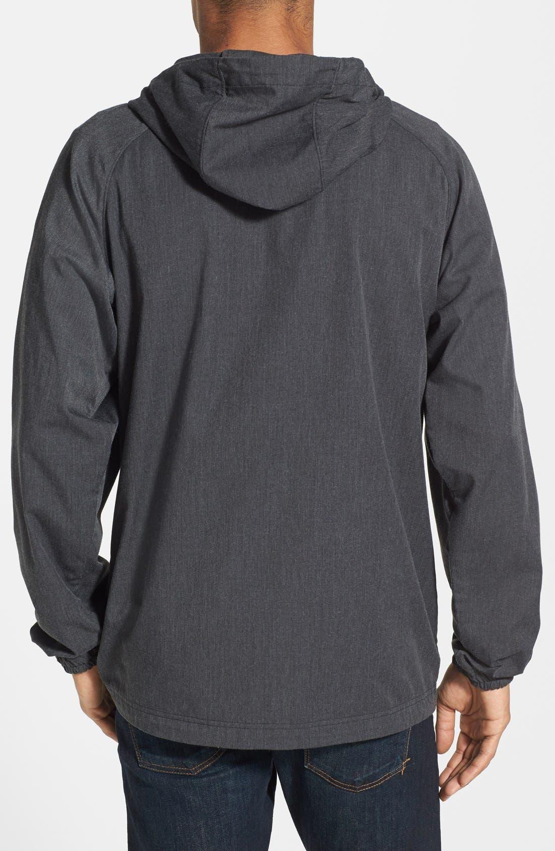 Alternate Image 2  - Nau 'Popu' Organic Cotton Blend Lace Up Coat