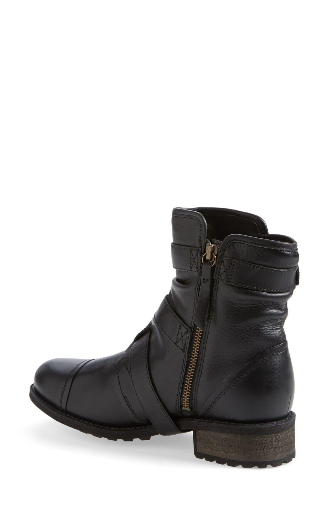 Alternate Image 2  - UGG® Australia 'Finney' Moto Boot (Women)