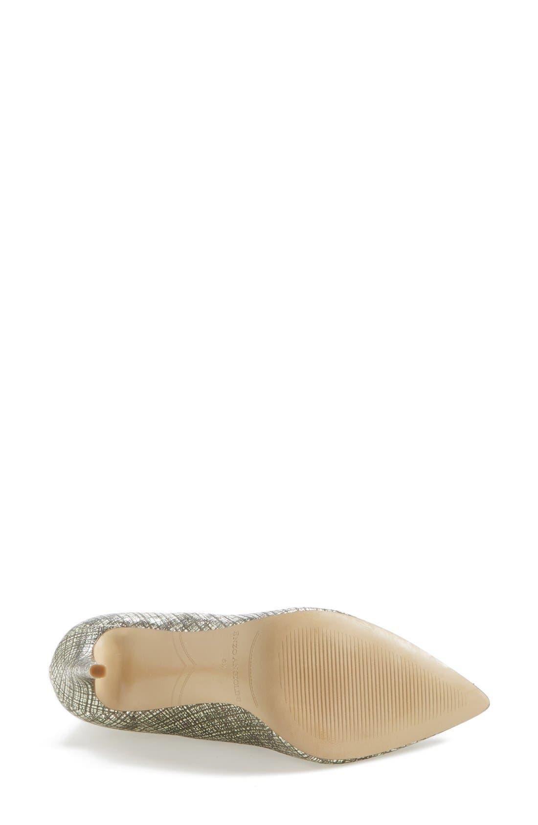Alternate Image 3  - Enzo Angiolini 'Finton' Leather Pointy Toe Pump (Women)