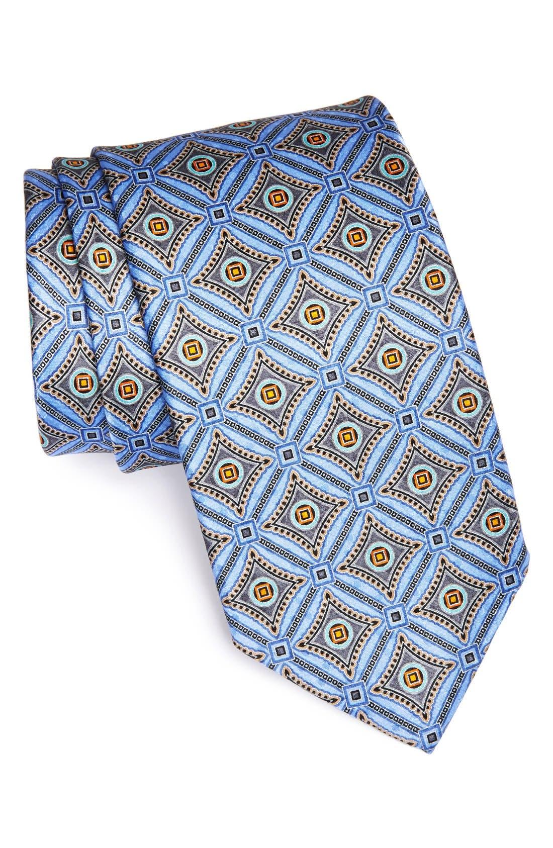 Main Image - J.Z. Richards Printed Silk Tie