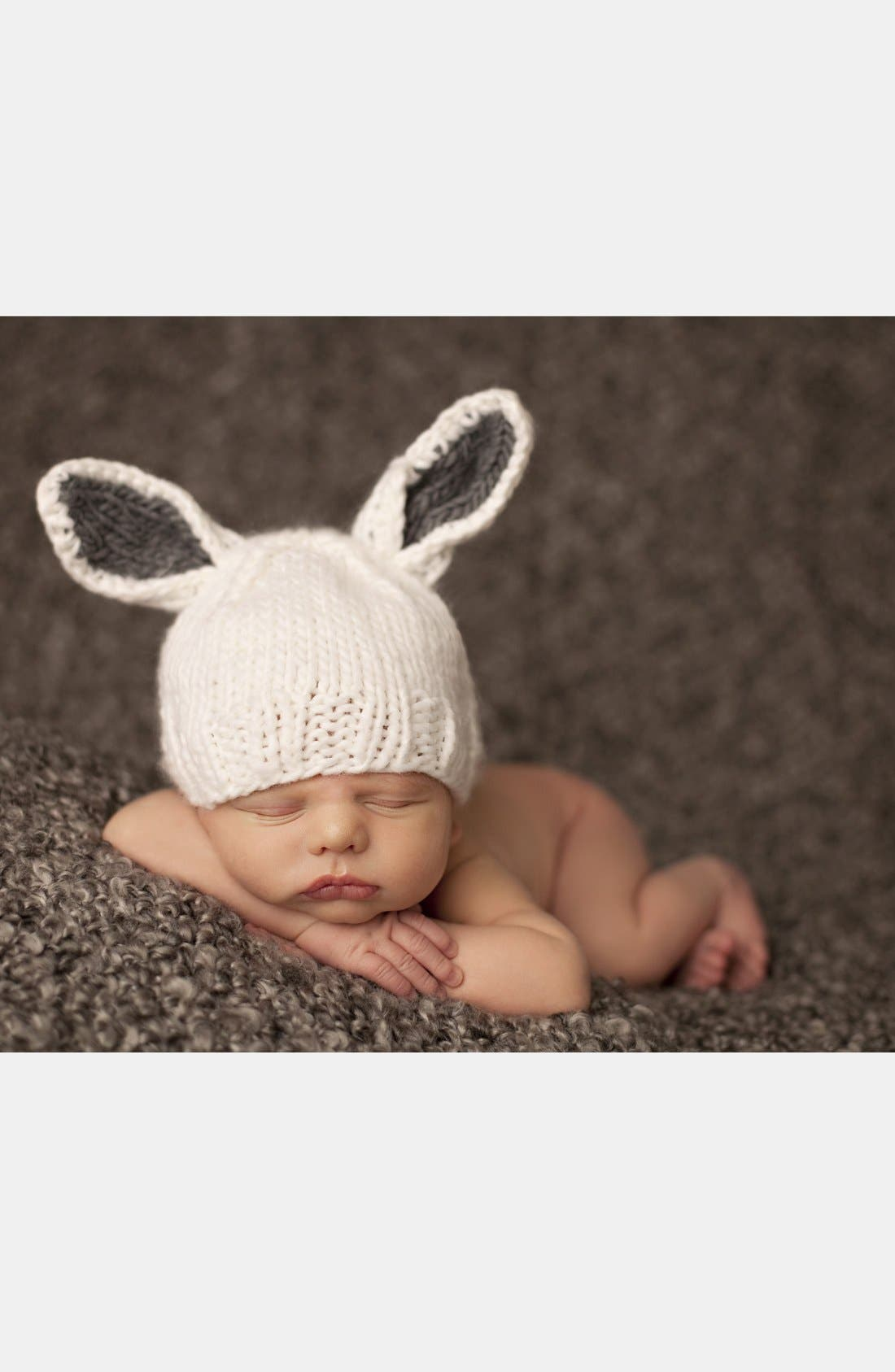 Alternate Image 1 Selected - Blueberry Hill 'Bunny' Knit Hat (Baby)