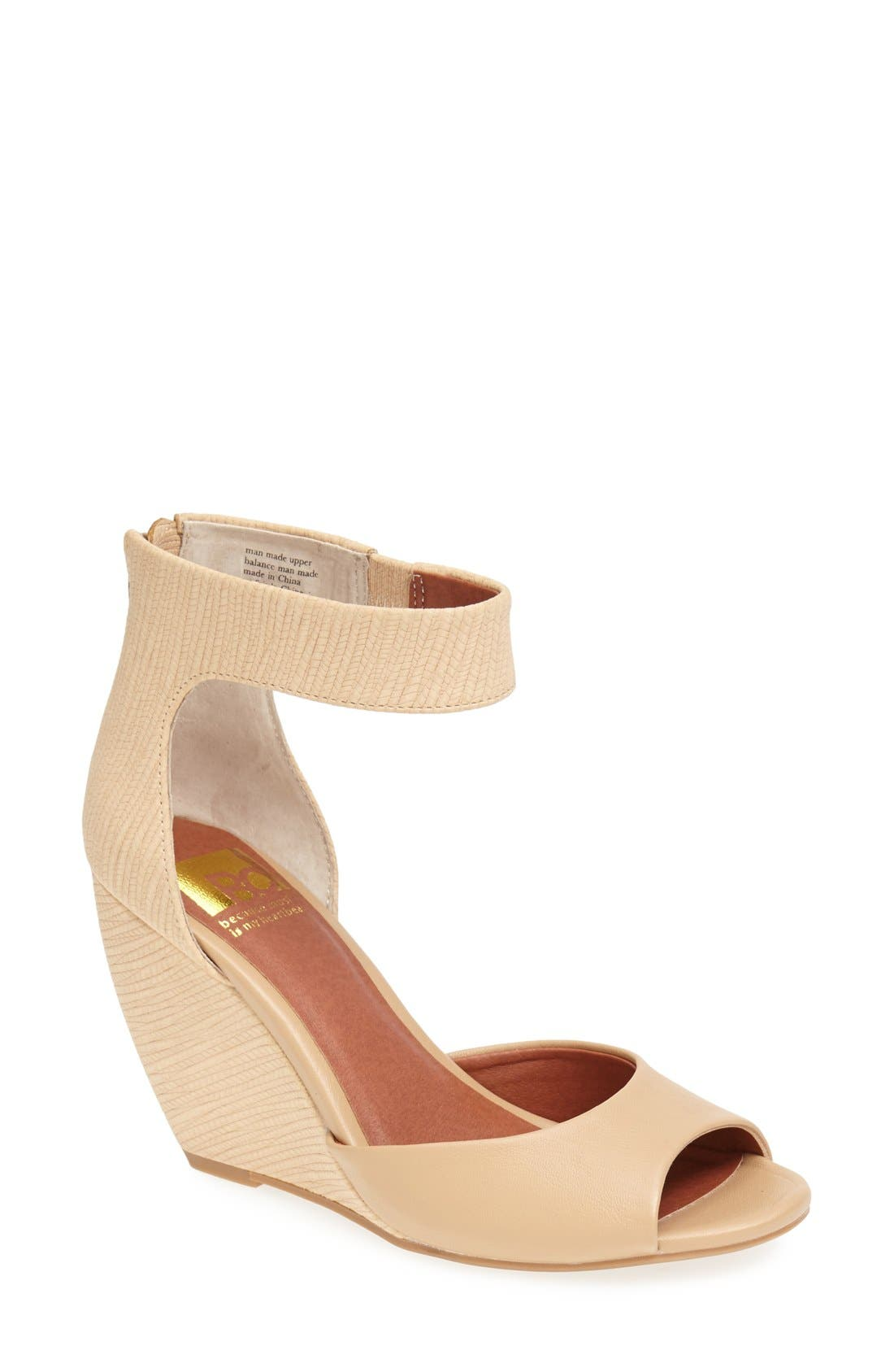 Alternate Image 1 Selected - BC Footwear 'Deep Down' Wedge Sandal (Women)
