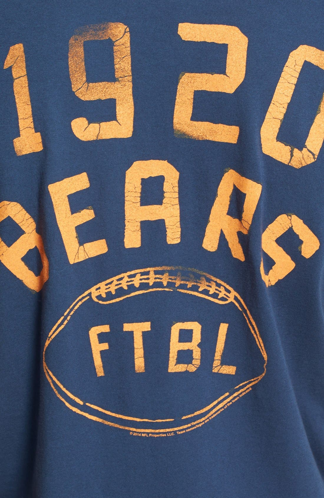 Alternate Image 3  - Junk Food 'Chicago Bears' Graphic T-Shirt