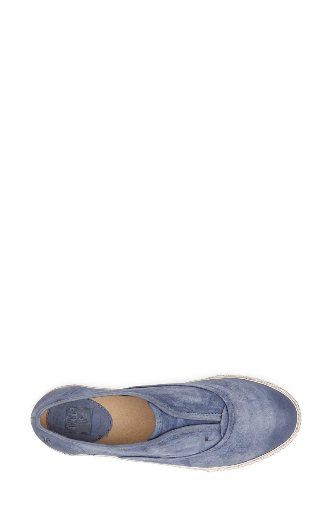 Alternate Image 4  - Frye 'Mindy' Slip-On Leather Sneaker (Women)