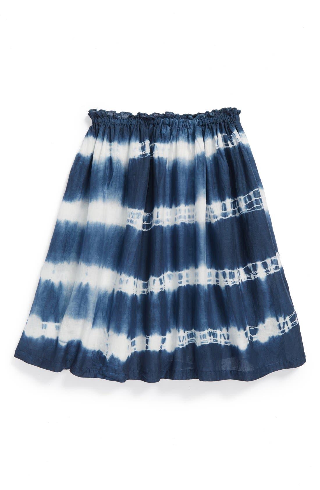 Alternate Image 1 Selected - Peek 'Festival' Tie Dye Cotton Skirt (Toddler Girls, Little Girls & Big Girls)