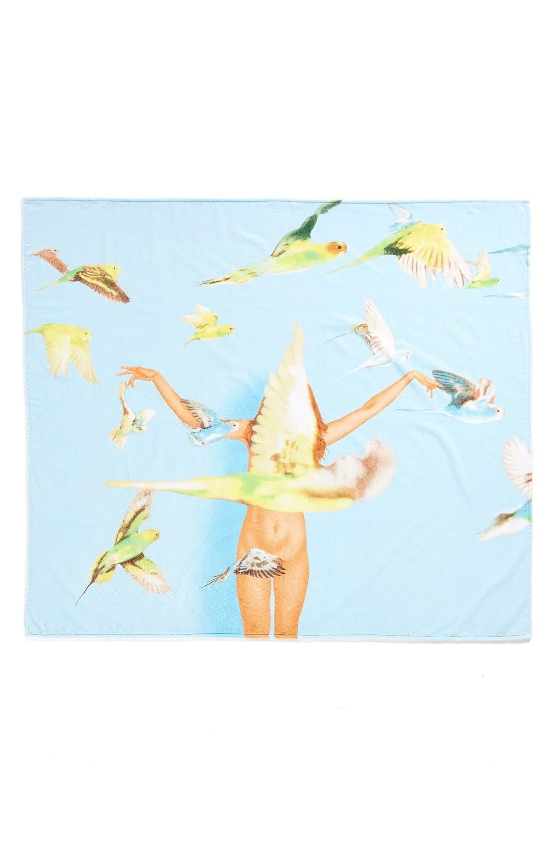 Alternate Image 1 Selected - Works on Whatever (WOW) 'Ryan McGinley' Beach Towel