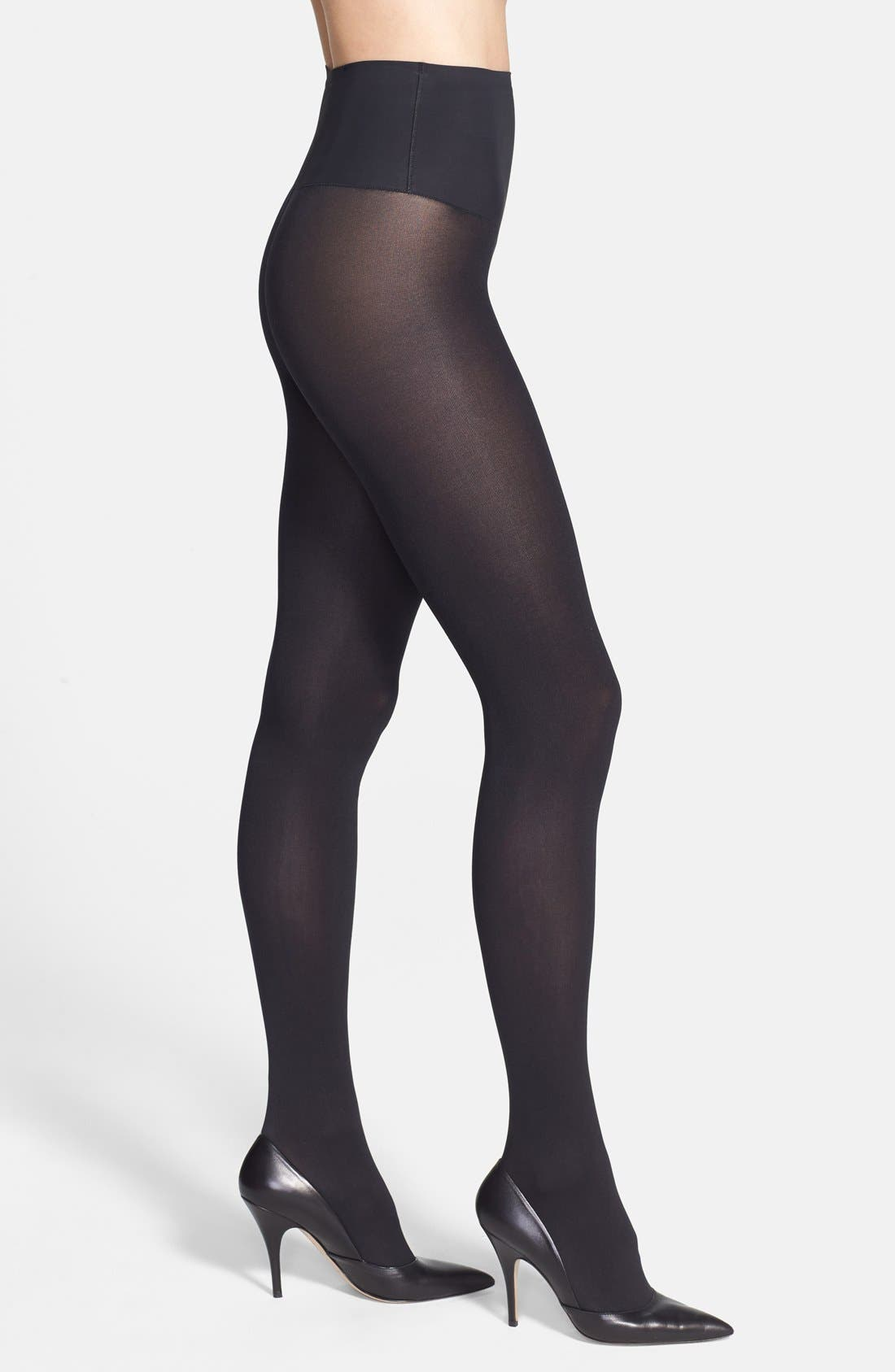 Main Image - Yummie by Heather Thomson 'Deidra' Mid Waist Control Top Tights (Online Only)