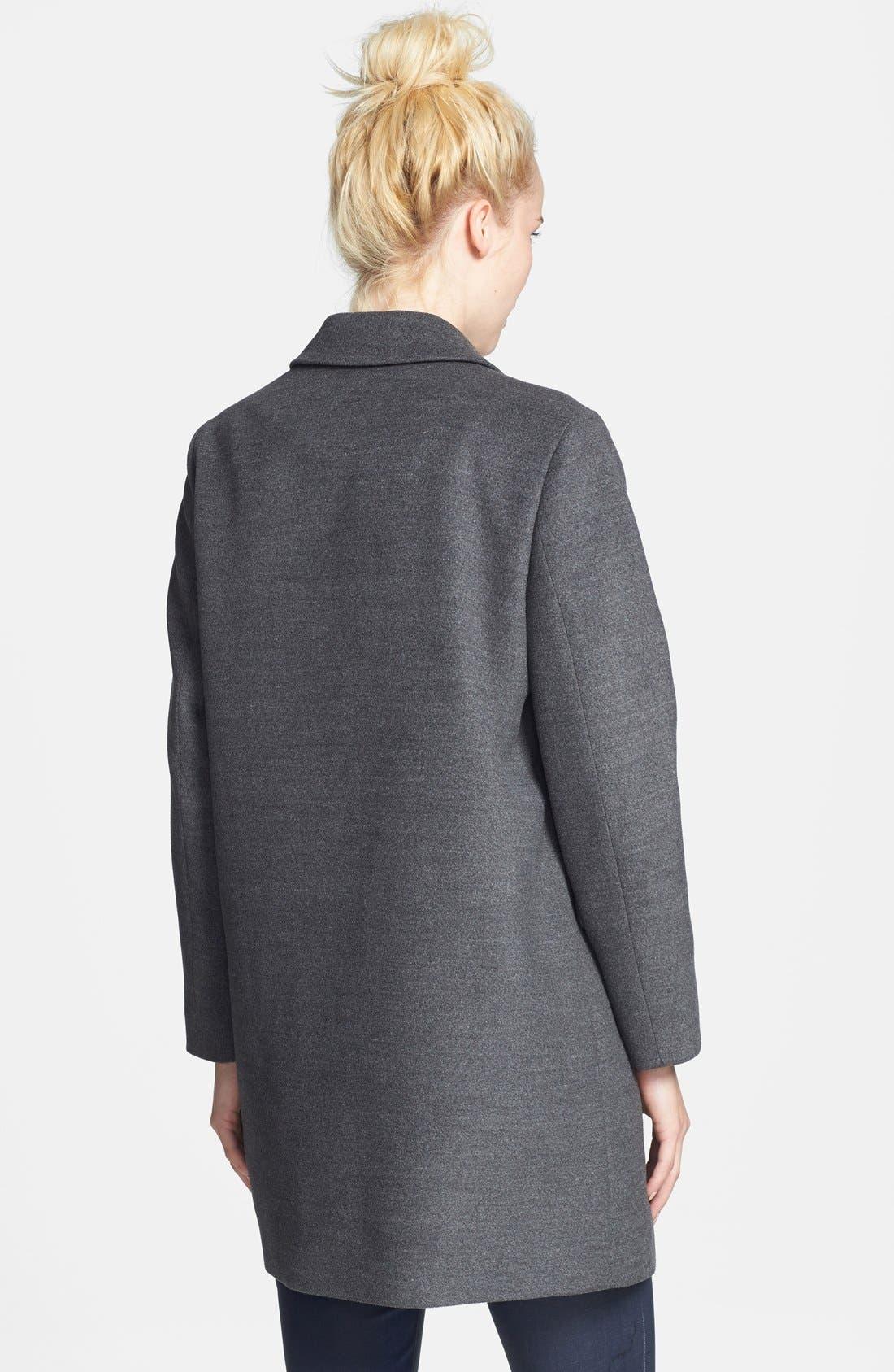 Alternate Image 2  - Topshop 'Maisie' Top Coat (Nordstrom Exclusive)